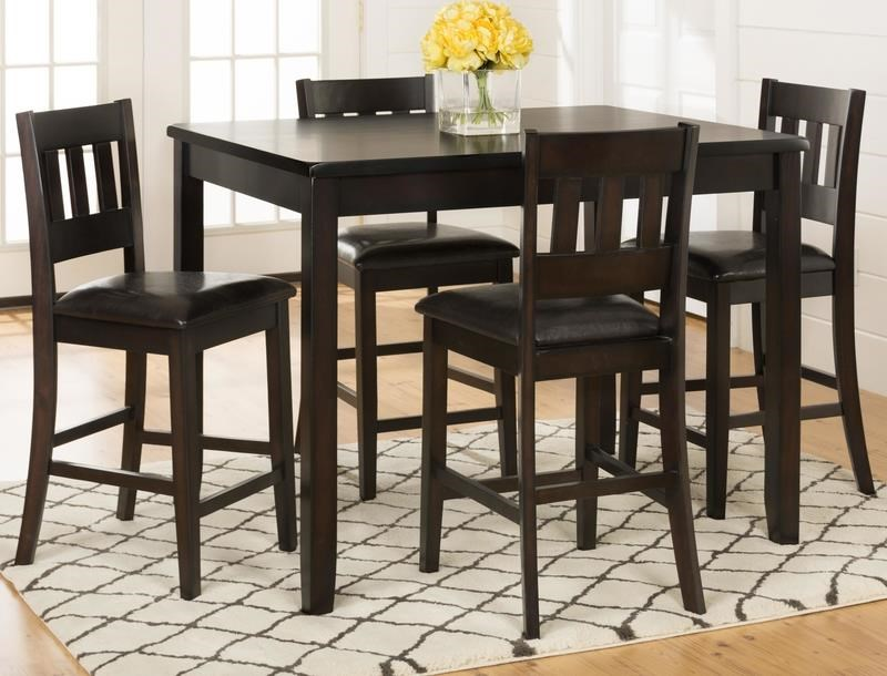 Berkely 5 piece counter height dining set morris home dining 5 piece set Morris home furniture hours