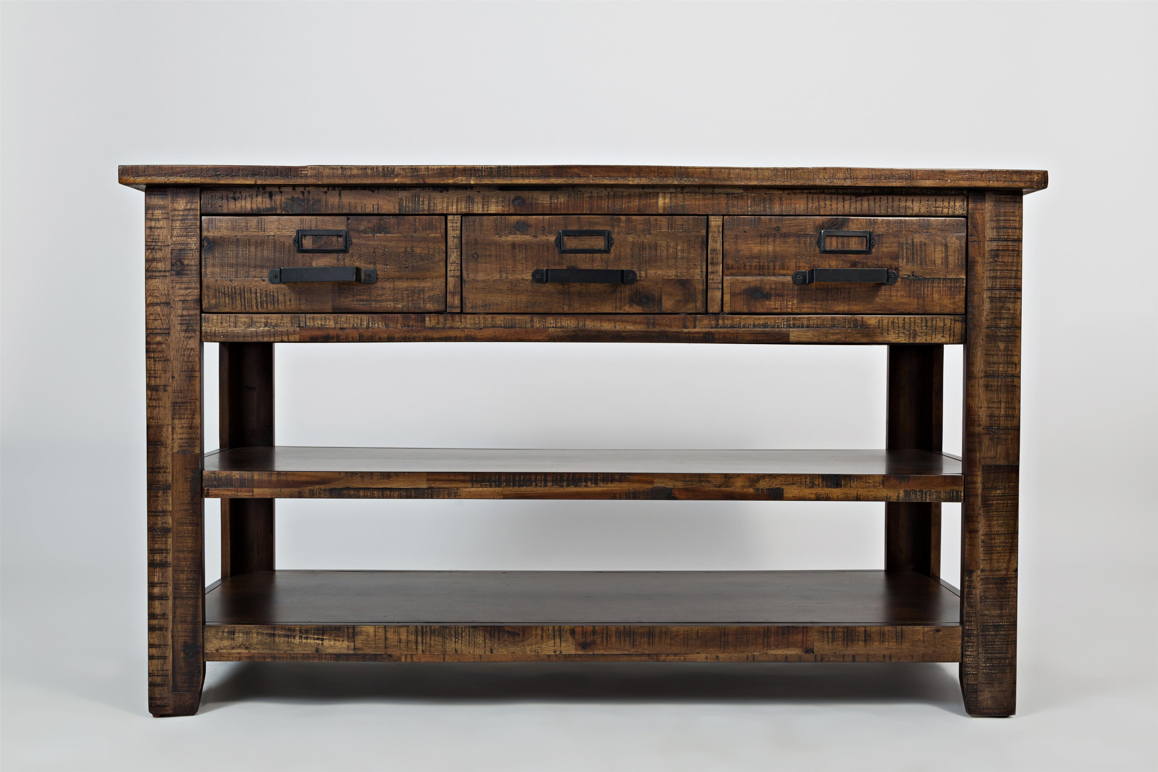 Morrow sofa table morris home sofa tables consoles for Morris home