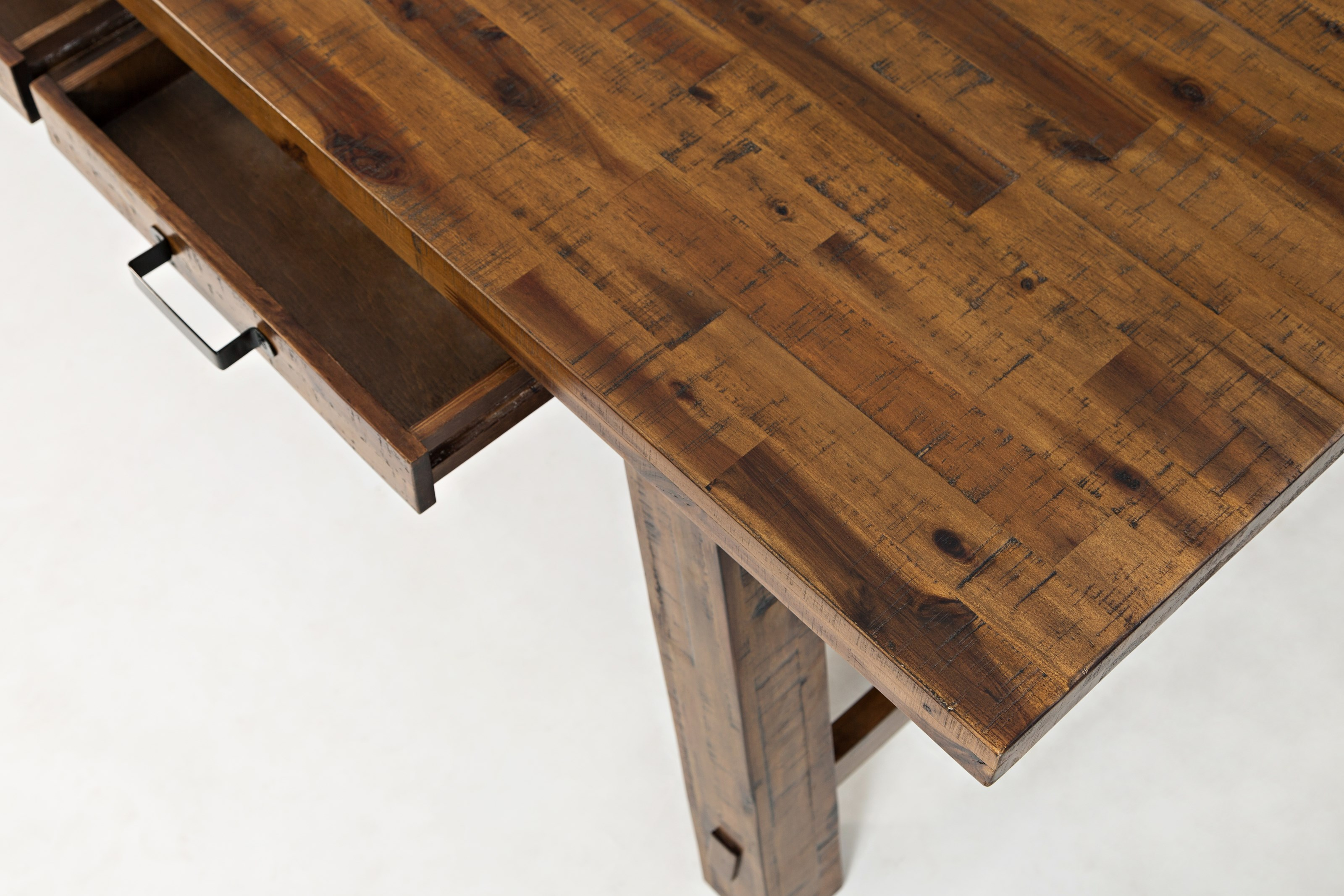 Jofran Cannon Valley 1511 82 Trestle Dining Table