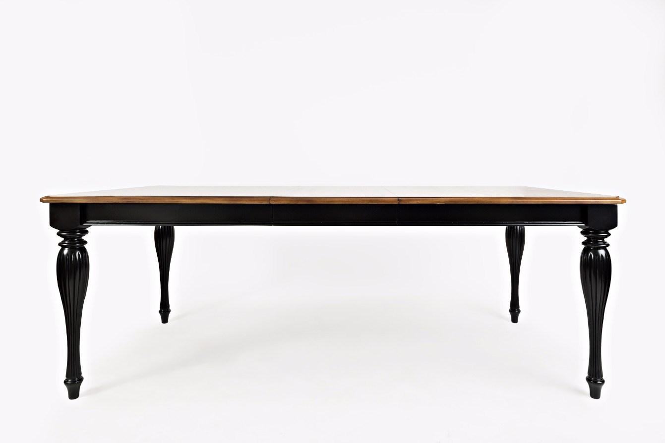 acropolis black rectangle dining table rotmans kitchen tables. Black Bedroom Furniture Sets. Home Design Ideas
