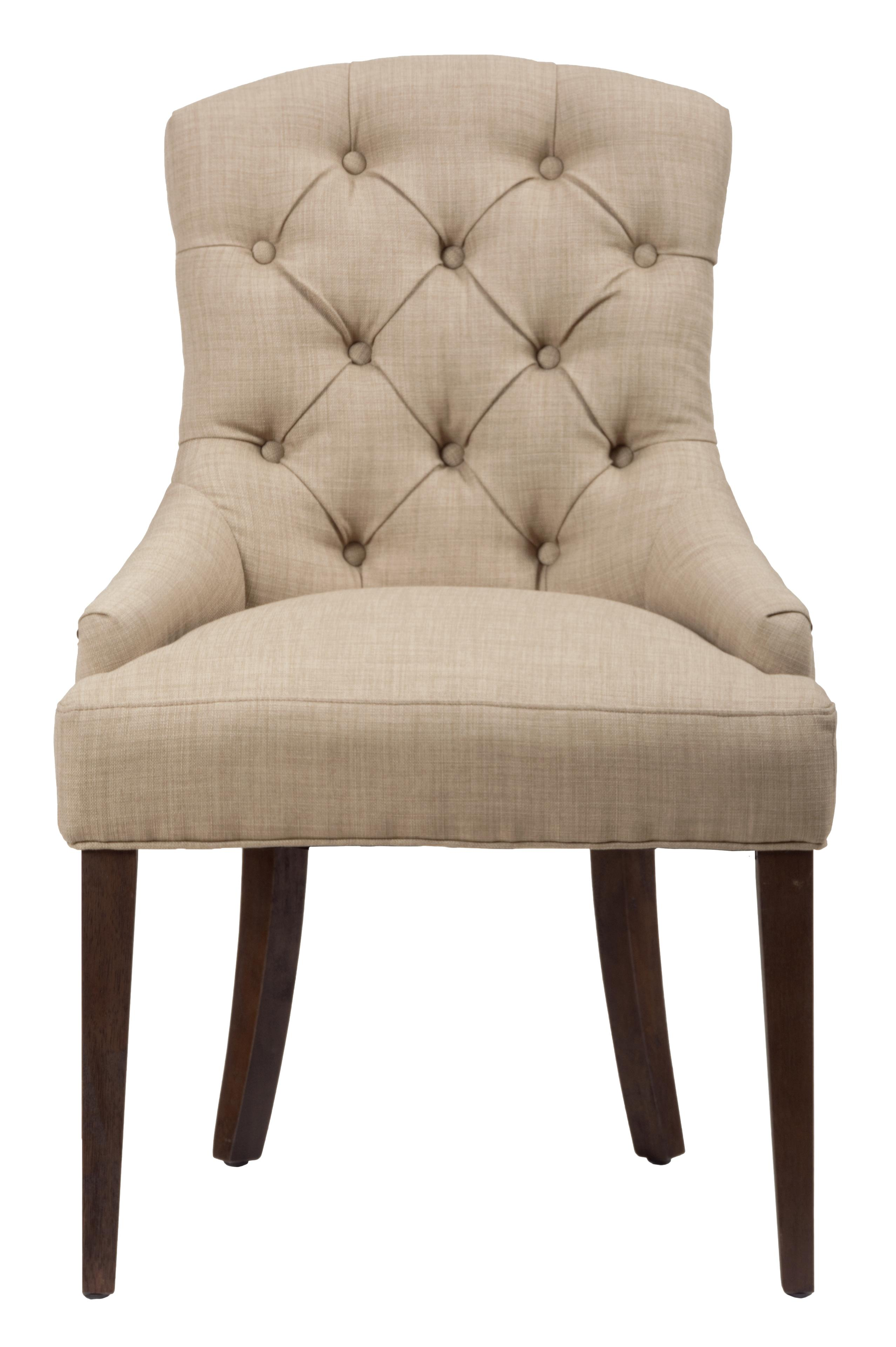 Long beach upholstered side chair with tufted back morris home dining side chairs Morris home furniture hours