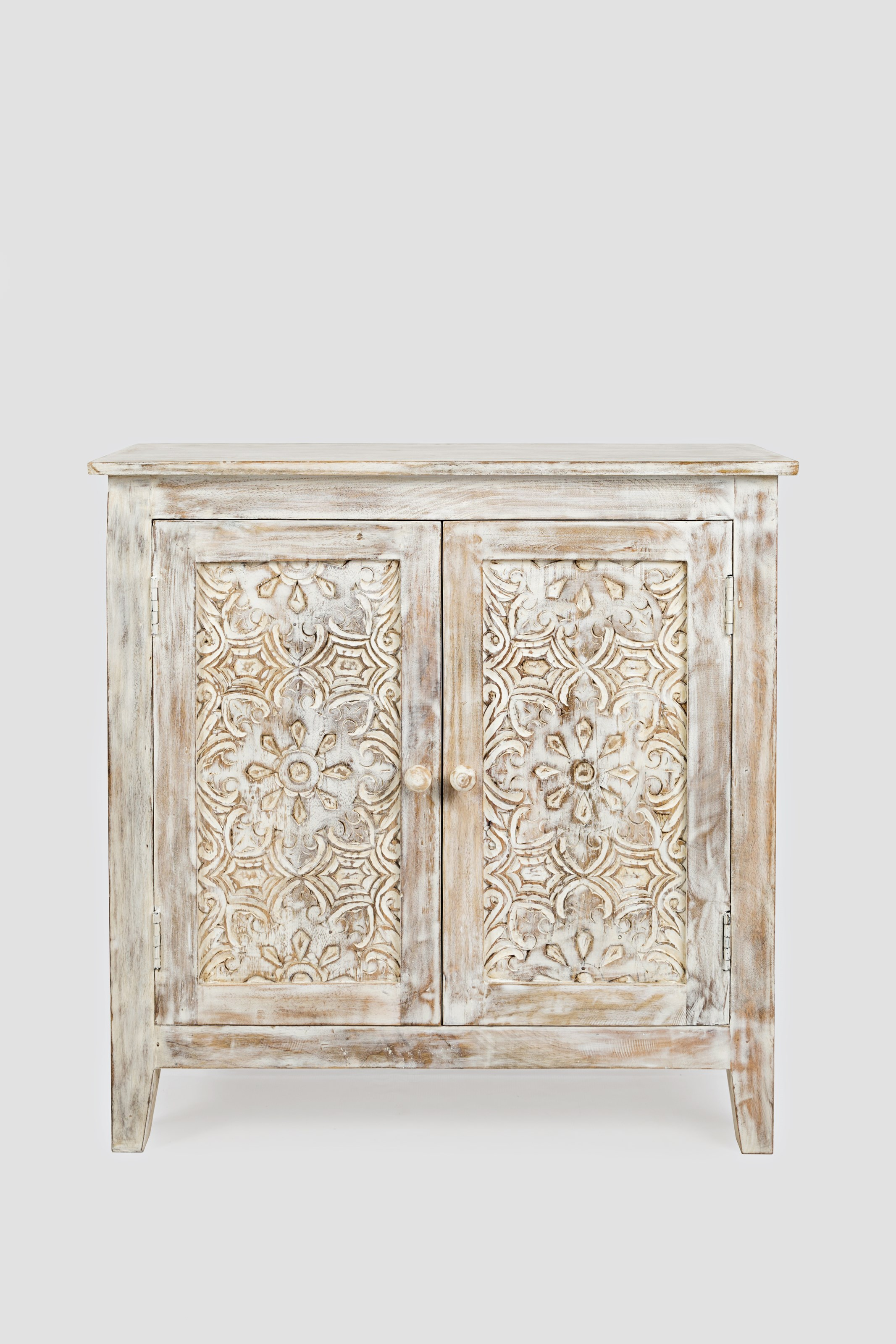 Global Archive Hand Carved Accent Chest by Jofran at Jofran
