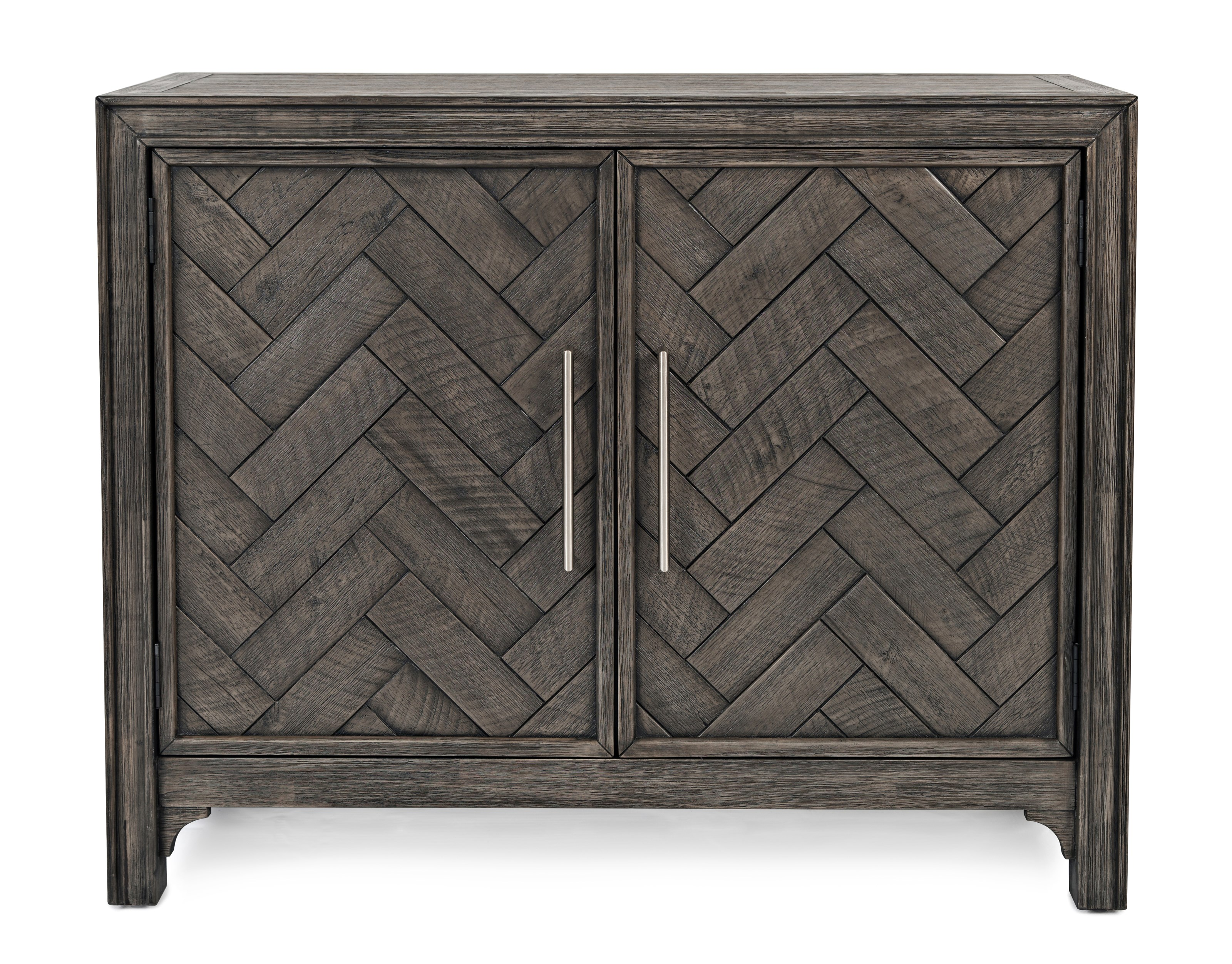 Gramercy Chevron Accent Cabinet by Jofran at Mueller Furniture