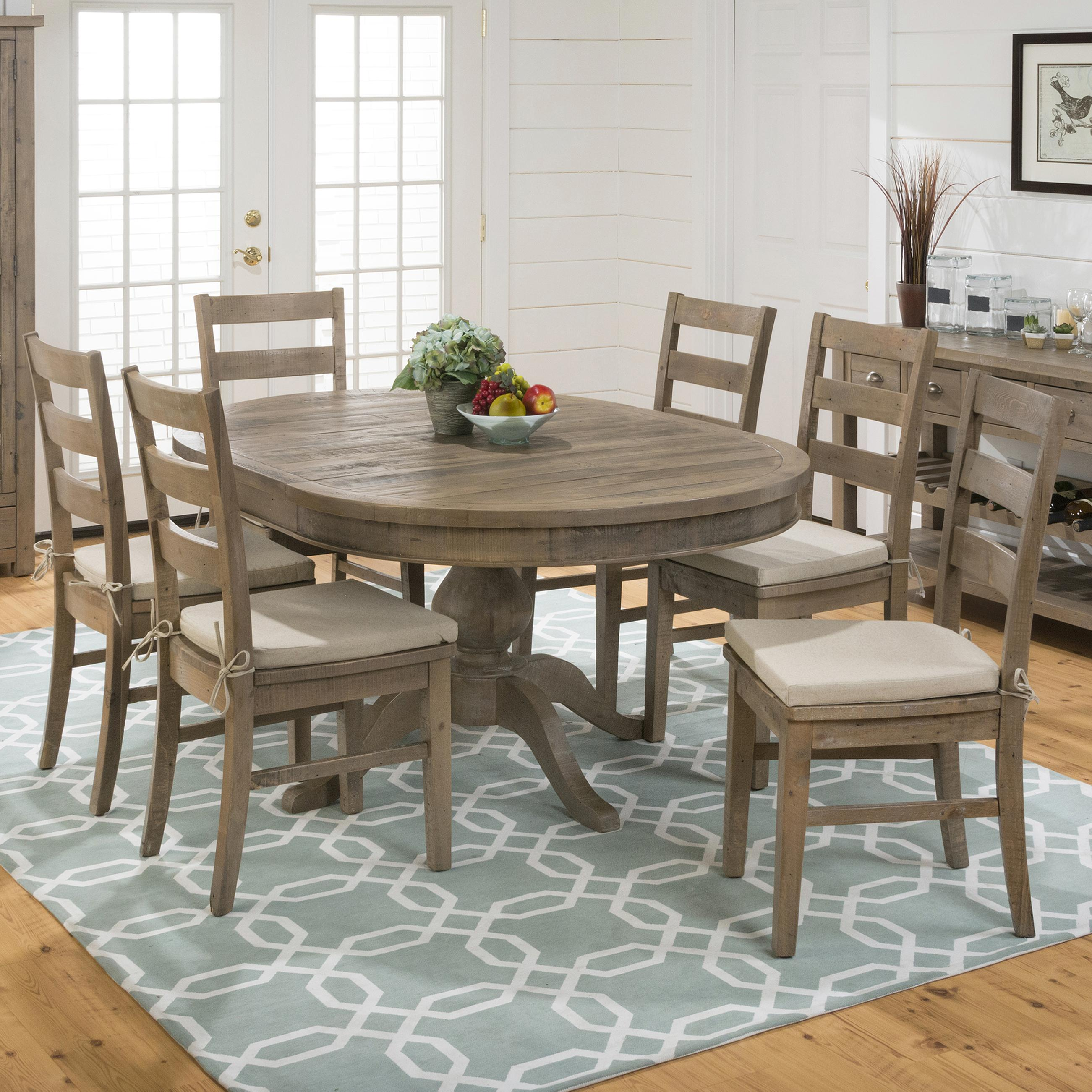 Belfort Essentials Slater Mill Pine Oval Table And