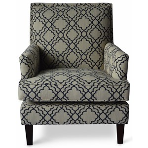 Jofran Accent Chairs Mckenna Accent Chair Taupe A1