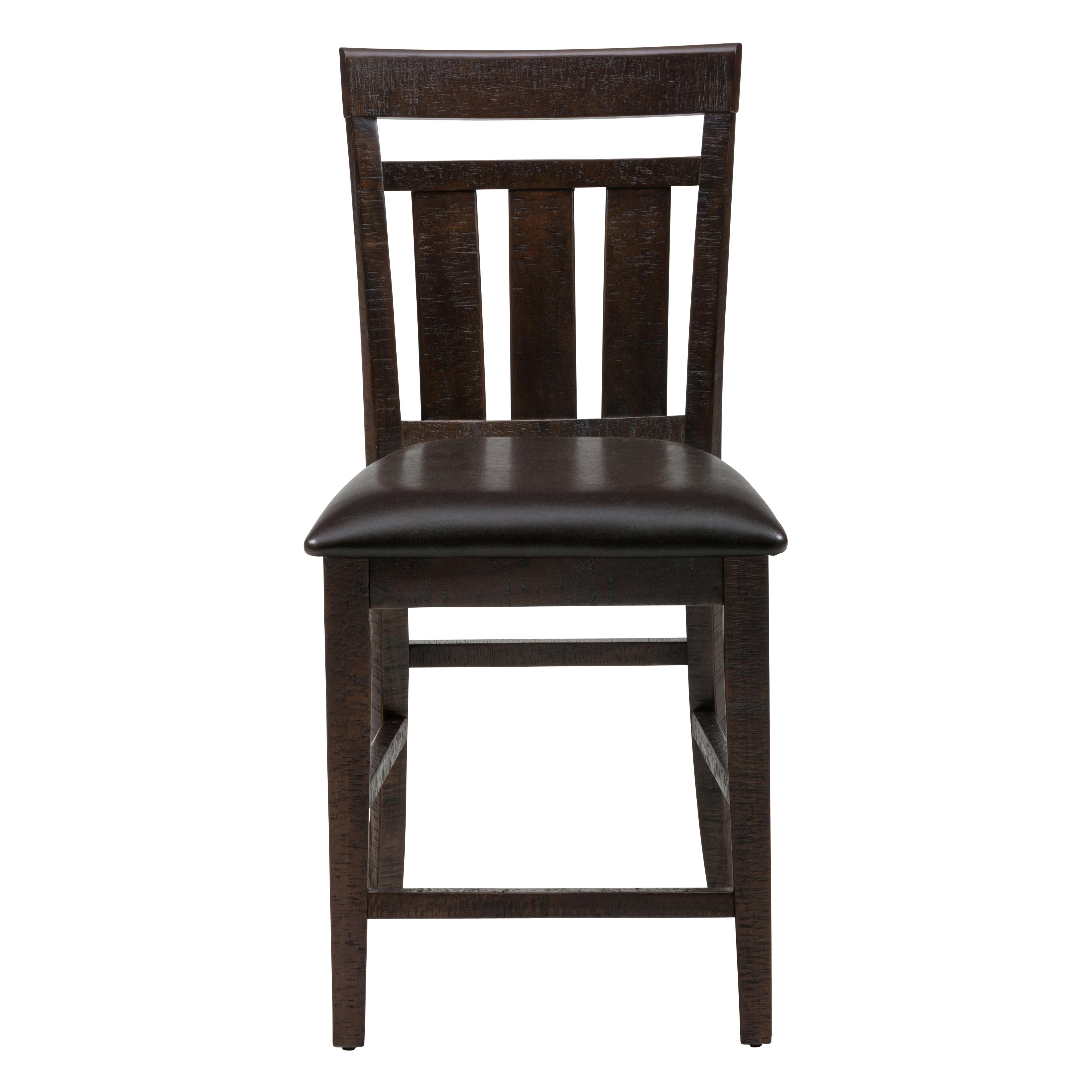 Kodak upholstered slat back stool morris home bar stools for Morris home