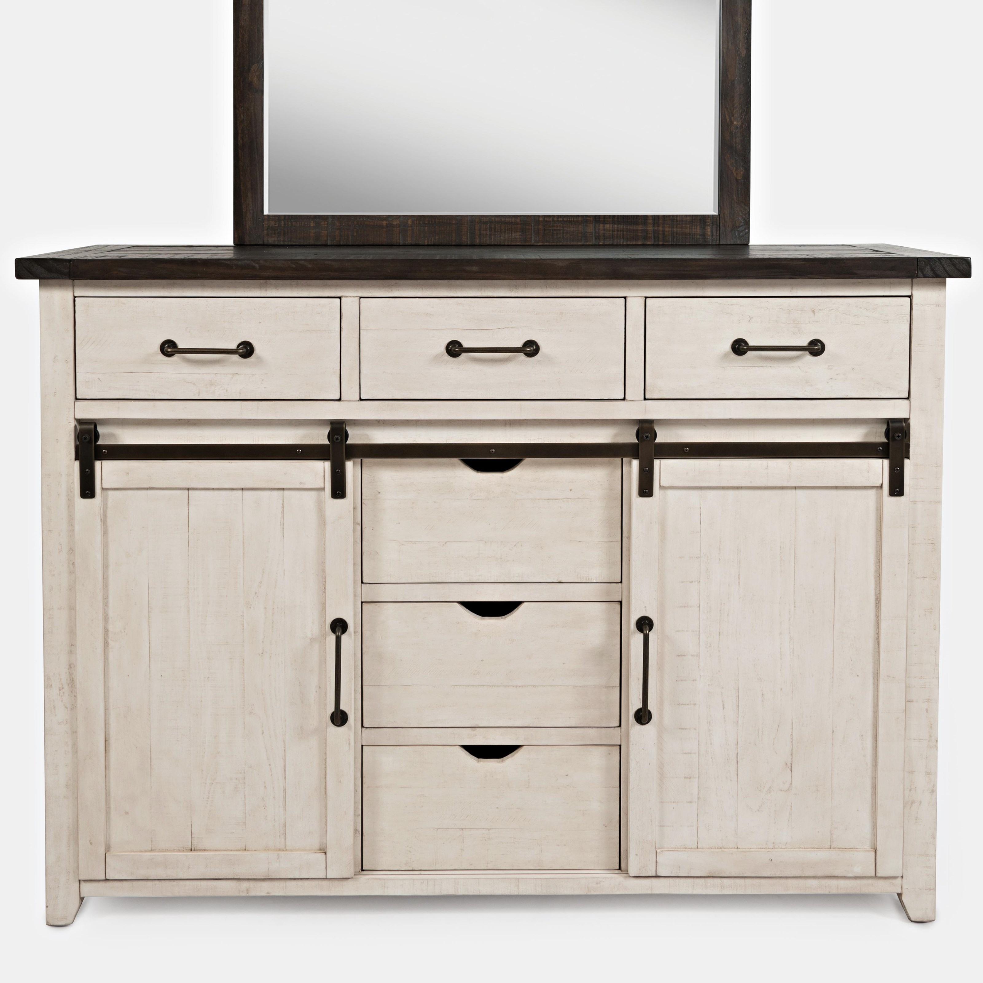 Madison County Door Dresser by Jofran at Darvin Furniture