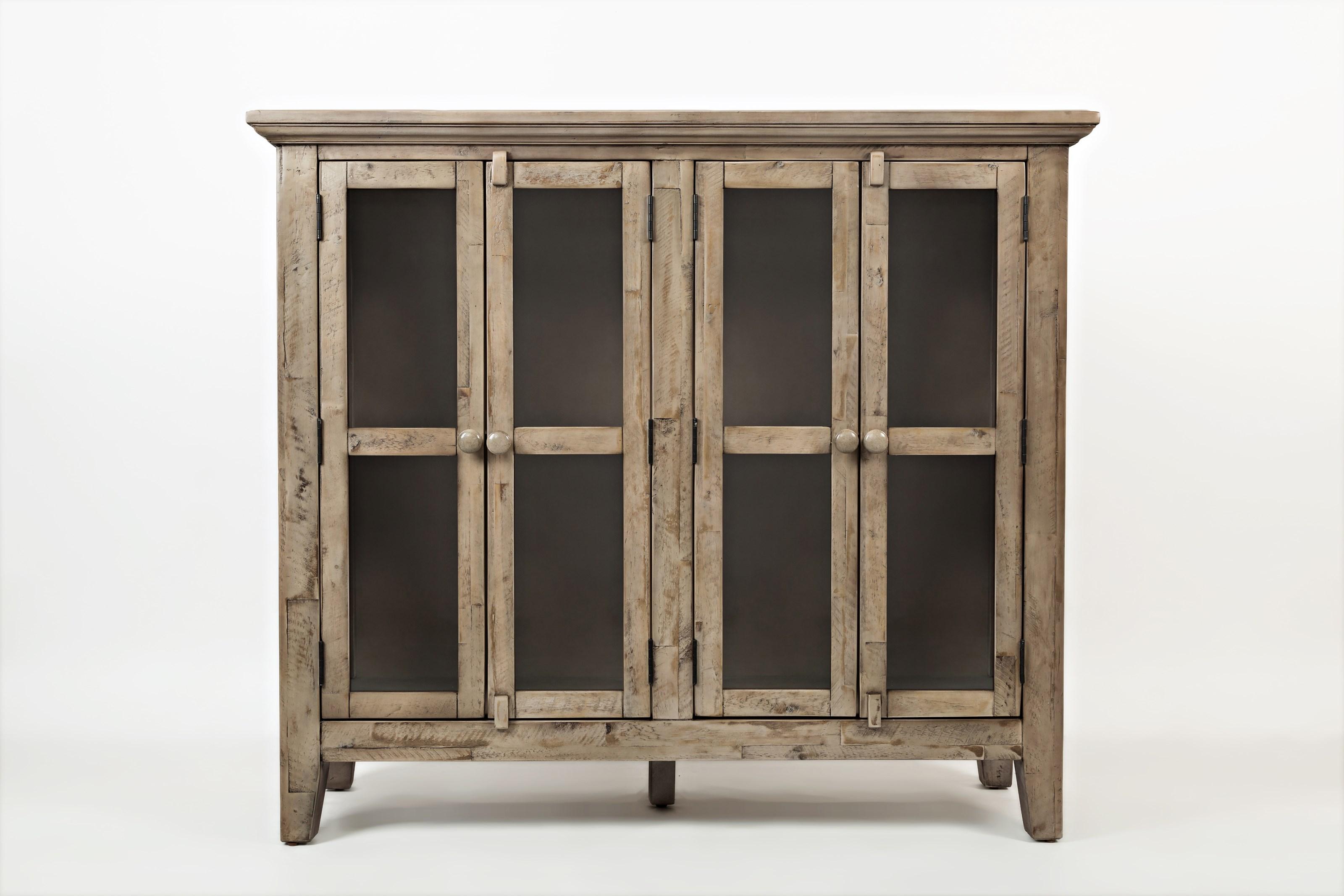 Rustic Shores 4 Door High Cabinet by Jofran at Johnny Janosik