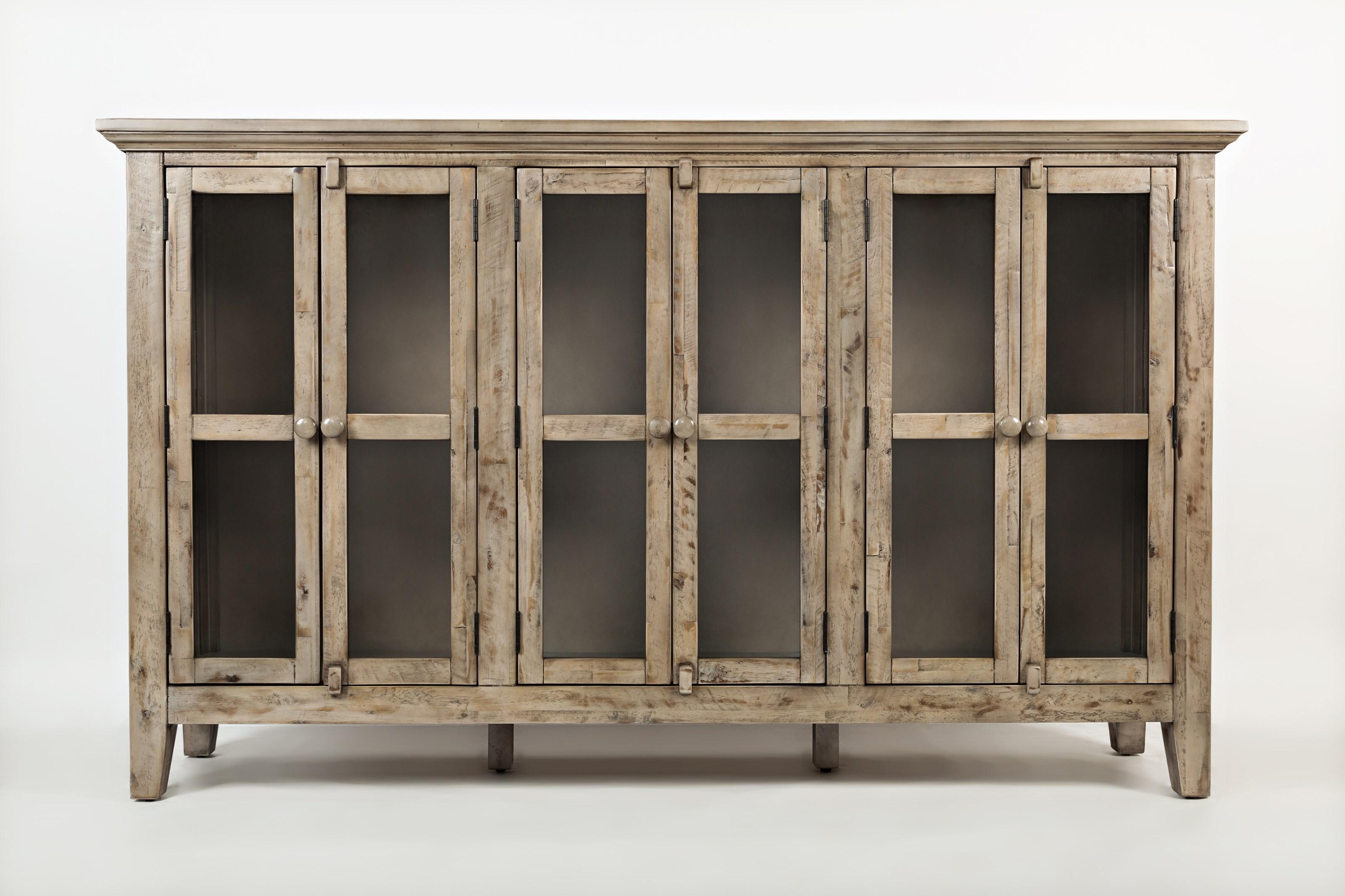 Rustic Shores 6 Door High Cabinet by Jofran at Johnny Janosik