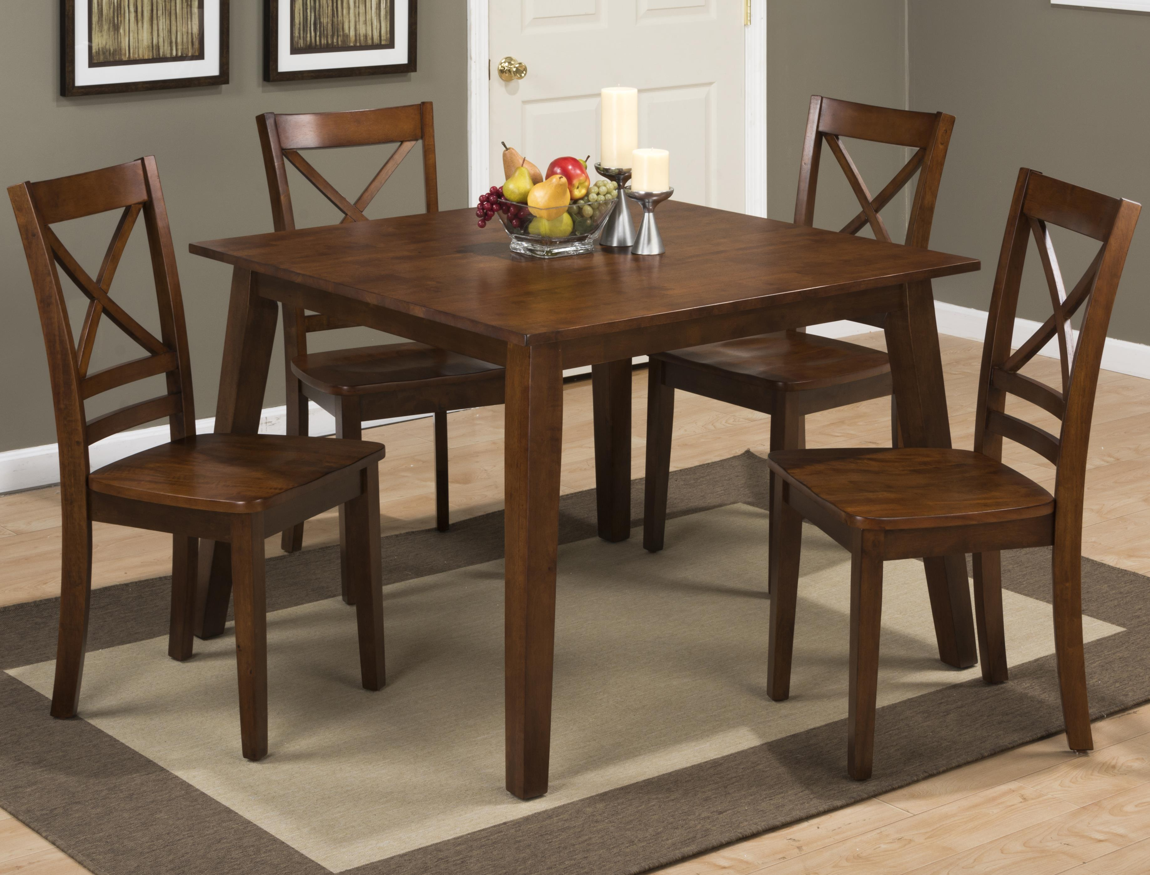 Jofran Simplicity Square Dining Table that Seats