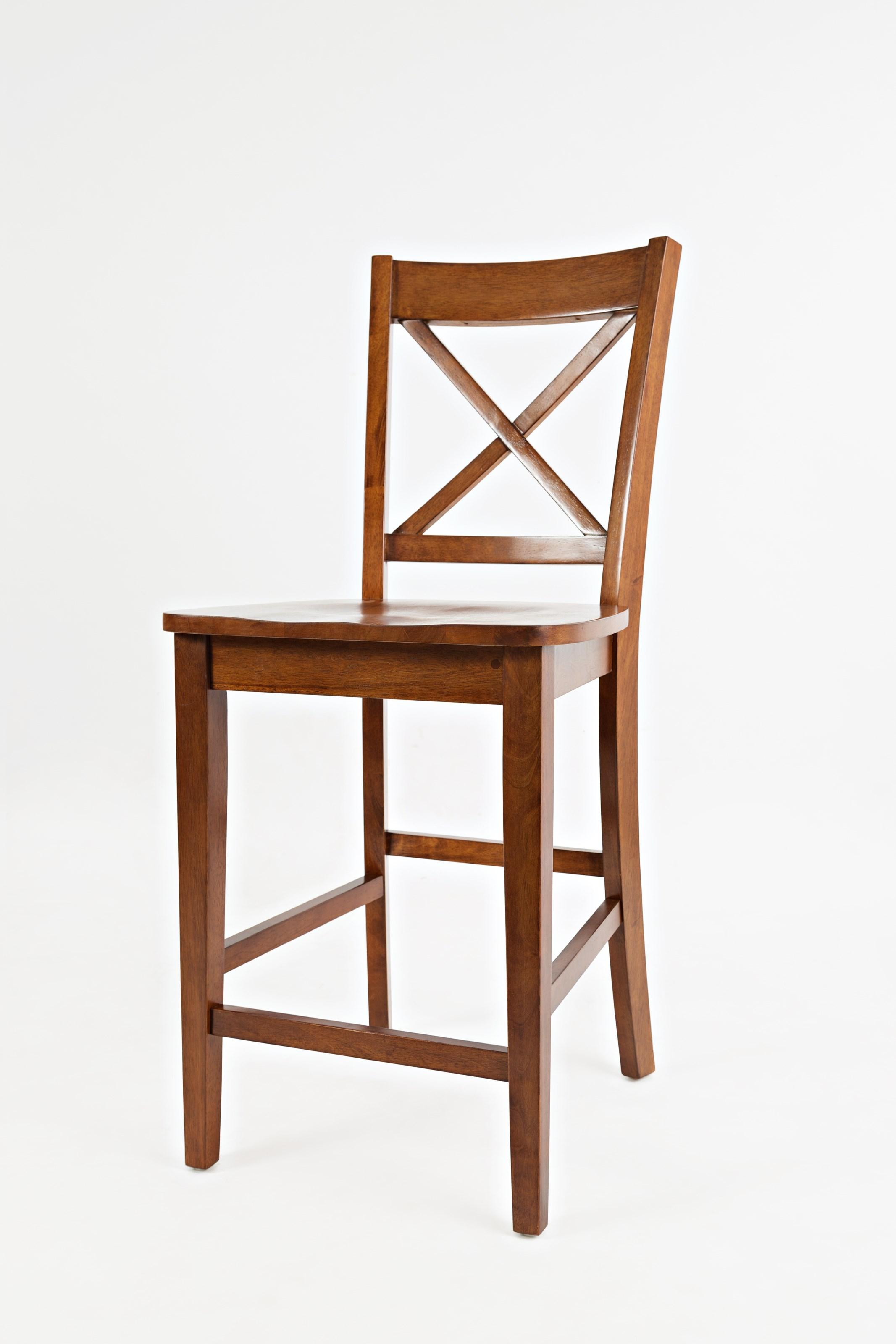jofran simplicity x back stool counter height mueller furniture bar stools. Black Bedroom Furniture Sets. Home Design Ideas
