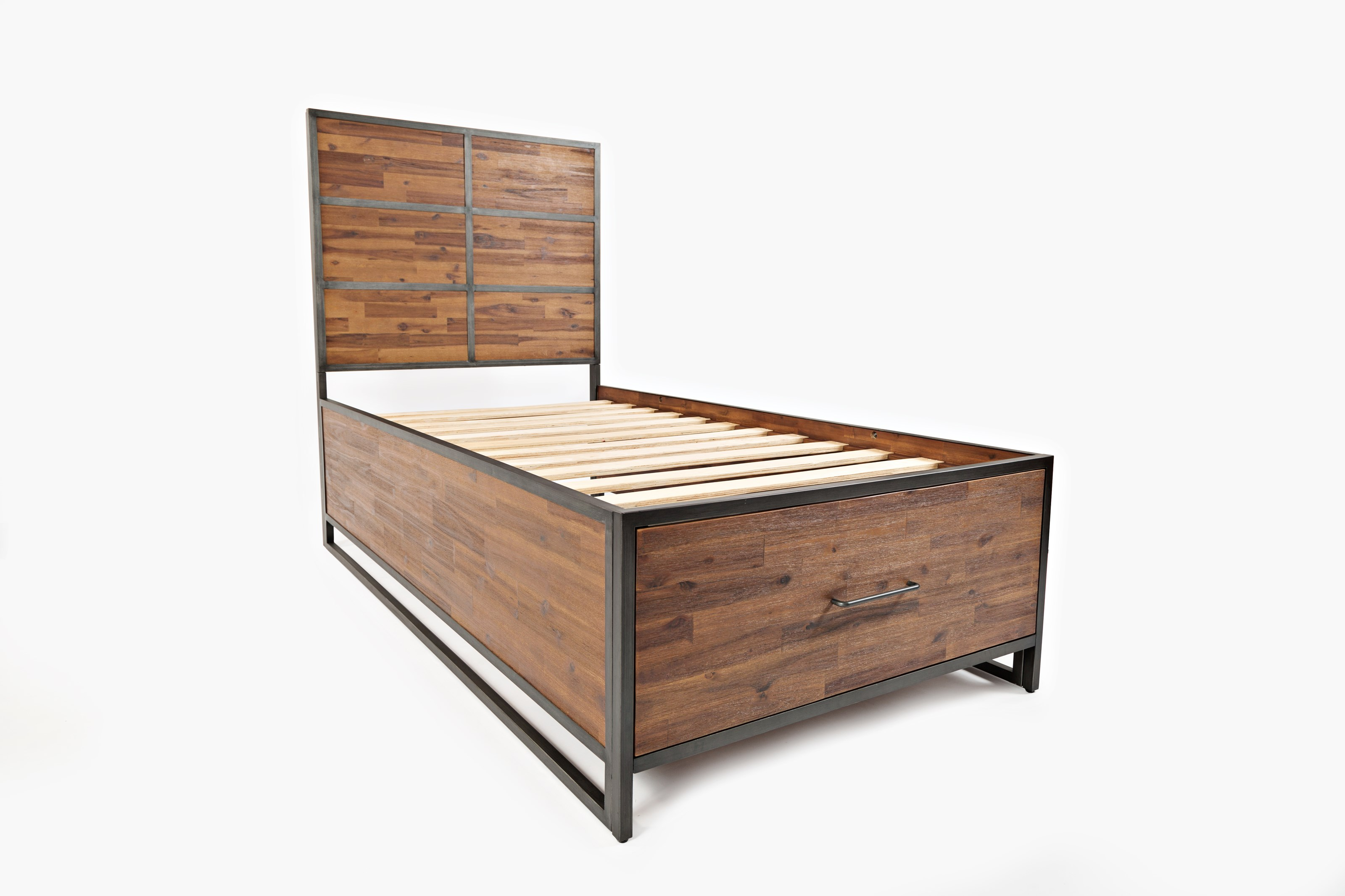 Sylvan twin storage bed morris home panel beds Morris home furniture hours