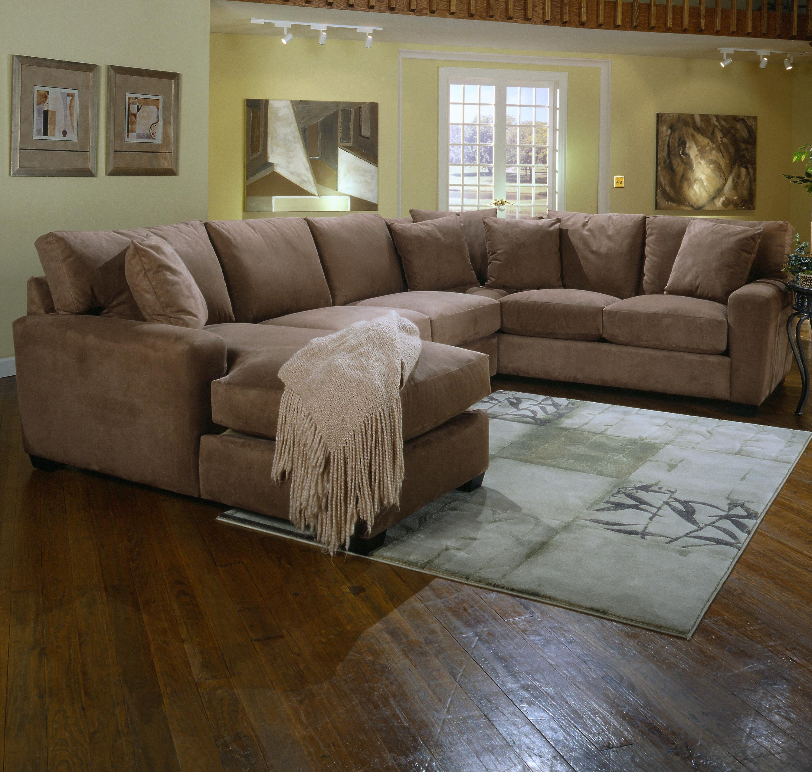 Jonathan Louis Benson L Shape Sectional With Laf Chaise Lounge Bennett 39 S Home Furnishings