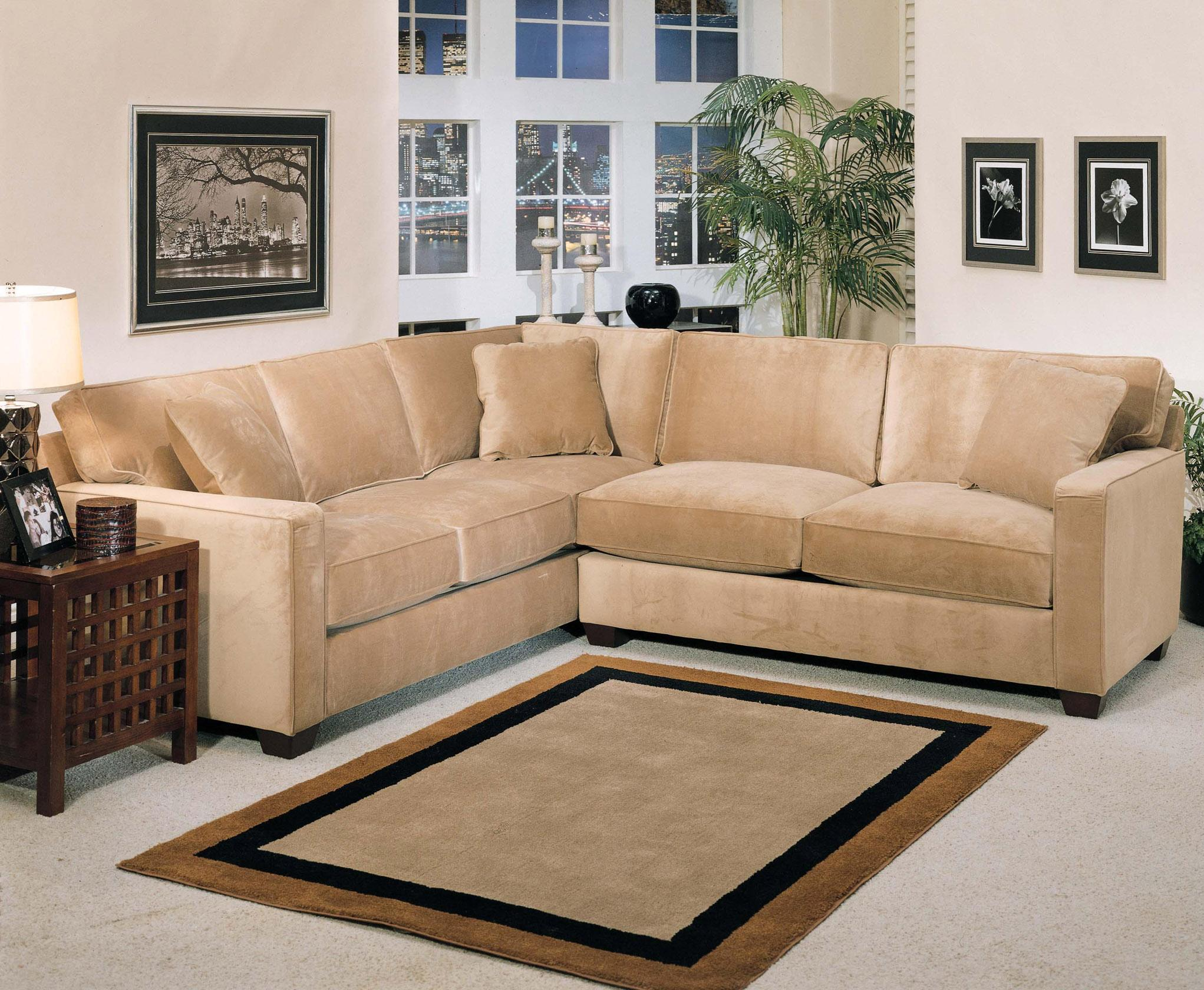 Jonathan Louis Bradford 2 Piece Stationary Sectional Fashion Furniture Sofa Sectional