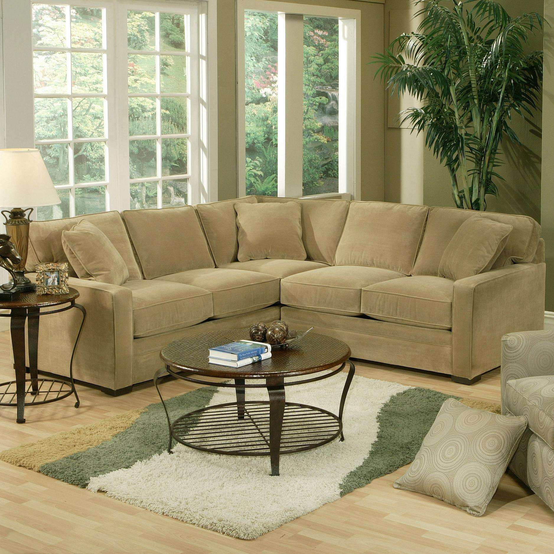 Jonathan Louis Choices Juno Contemporary Sofa With Track Arms Olinde 39 S Furniture Sectional