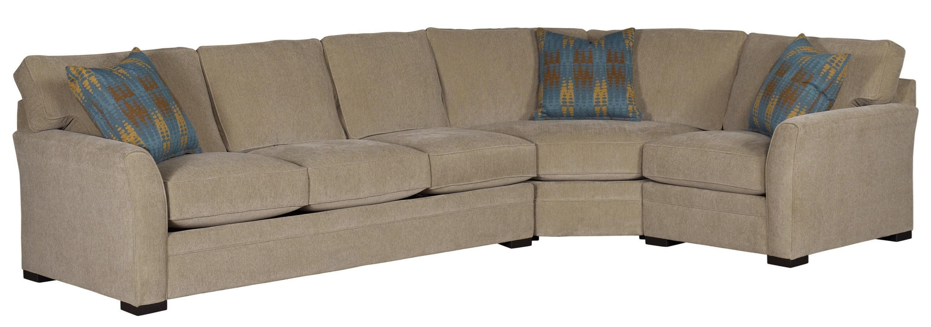 Jonathan Louis Scorpio Casual Sectional Sofa With Flared Arms Bennett 39 S Home Furnishings