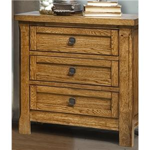 Vaughan furniture ranchero dresser mirror in oak finish for Bedroom furniture 30144
