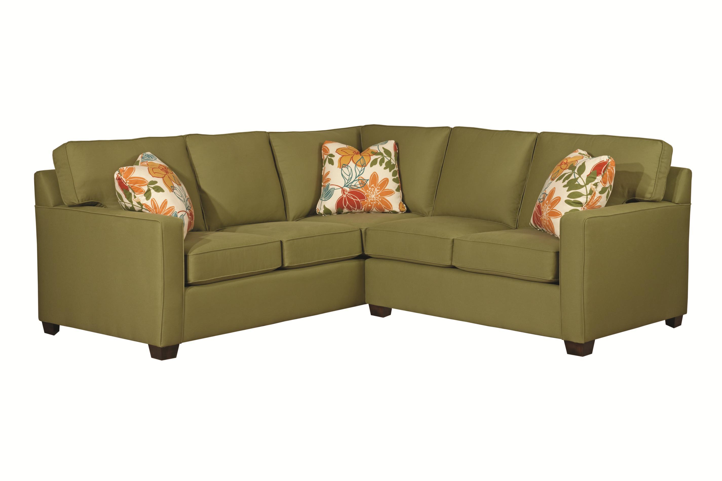 kincaid furniture brooke two piece sectional sofa hudson With kincaid furniture sectional sofa