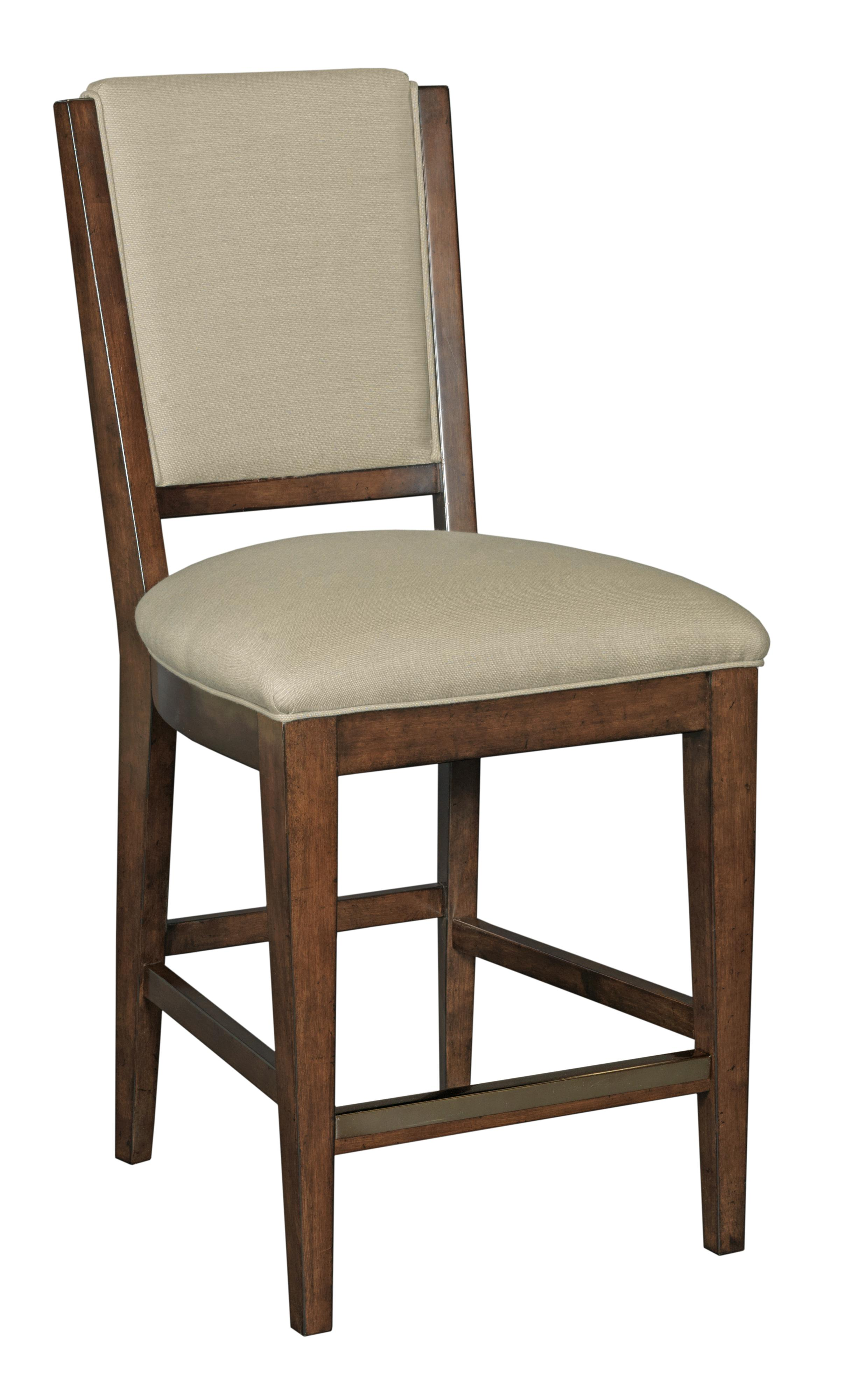 Kincaid Furniture Elise Transitional Spectrum Counter Height Chair With Perfo