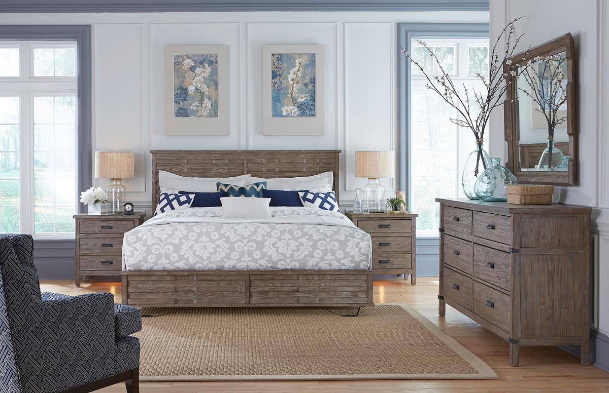weathered bedroom furniture furniture foundry 59 141 rustic weathered gray 13803