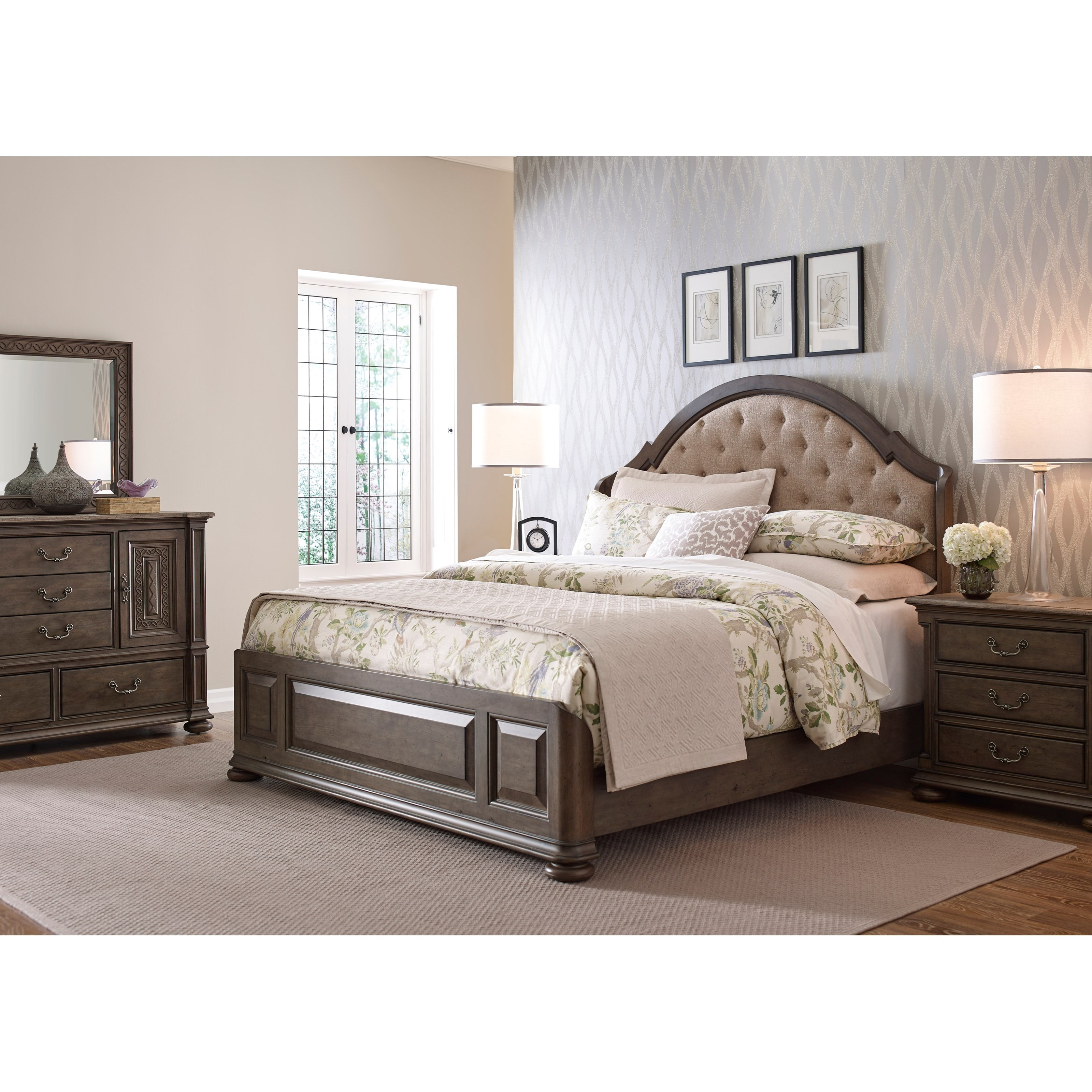 Kincaid Furniture Greyson Queen Bedroom Group Wayside