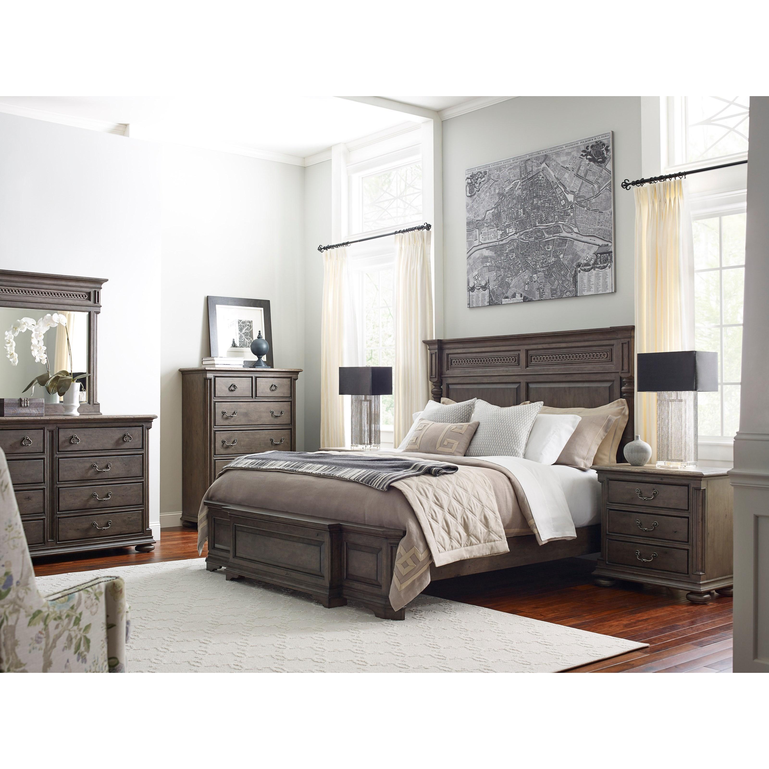 kincaid furniture greyson austin eight drawer dresser johnny janosik dressers. Black Bedroom Furniture Sets. Home Design Ideas
