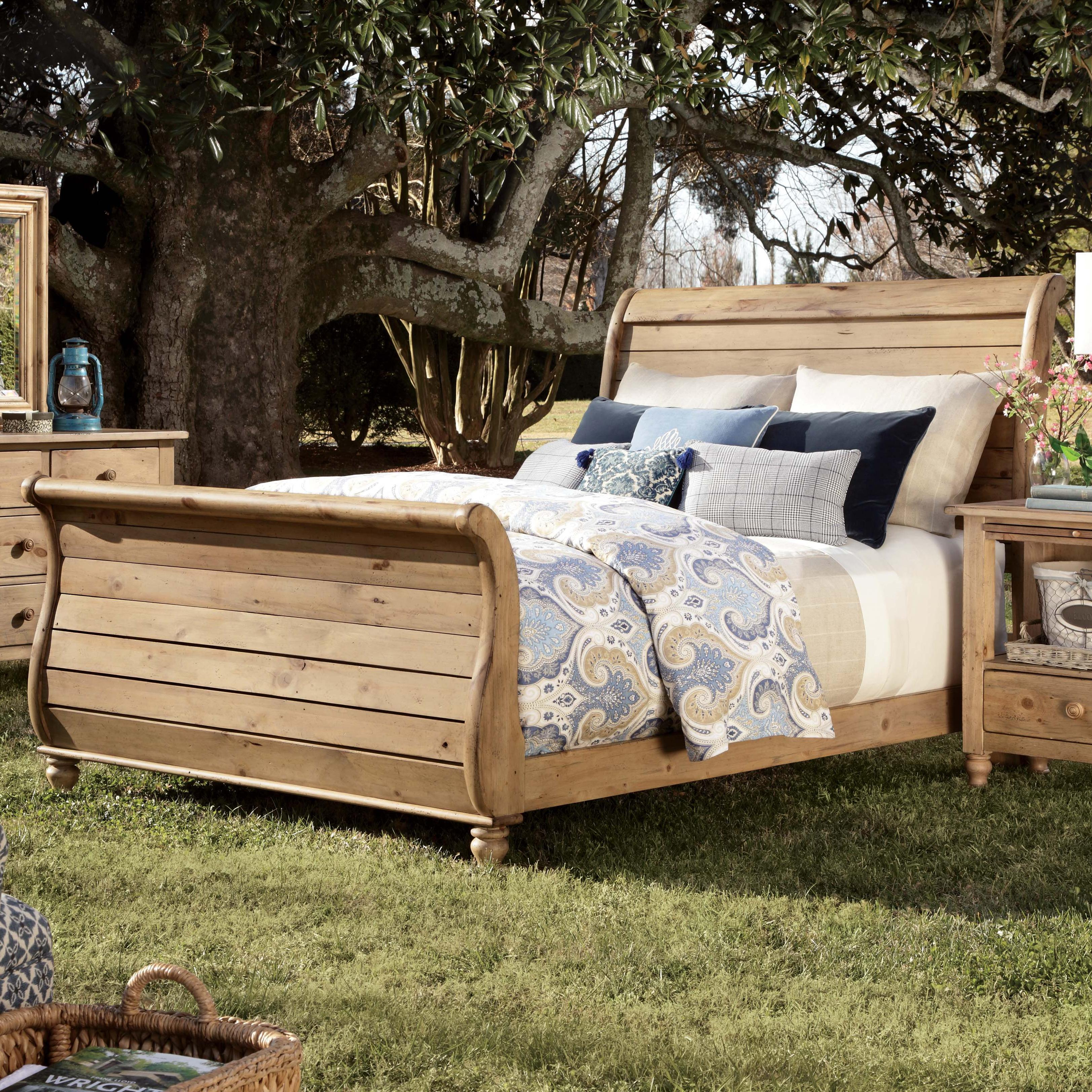 Homecoming King Sleigh Bed With Headboard And Footboard By Kincaid Furniture