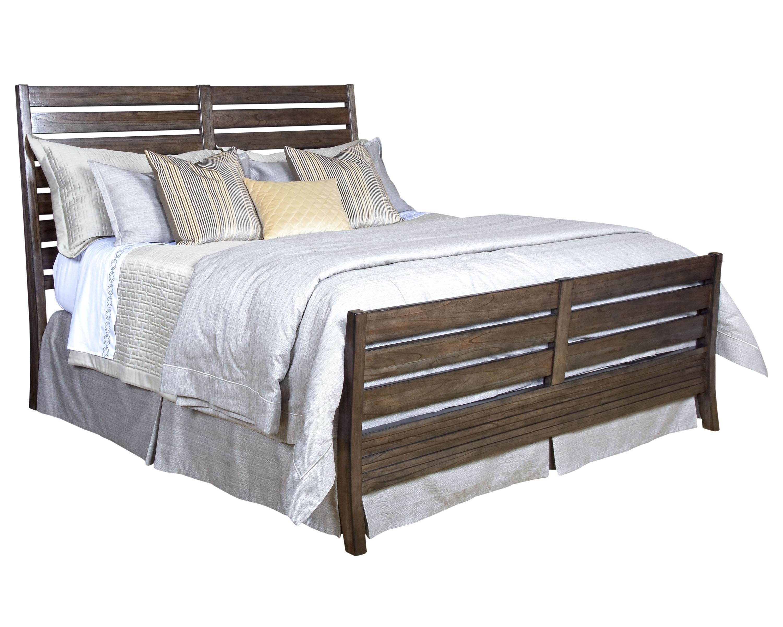 Montreat California King Rake Slat Sleigh Bed By Kincaid Furniture Wolf Furniture