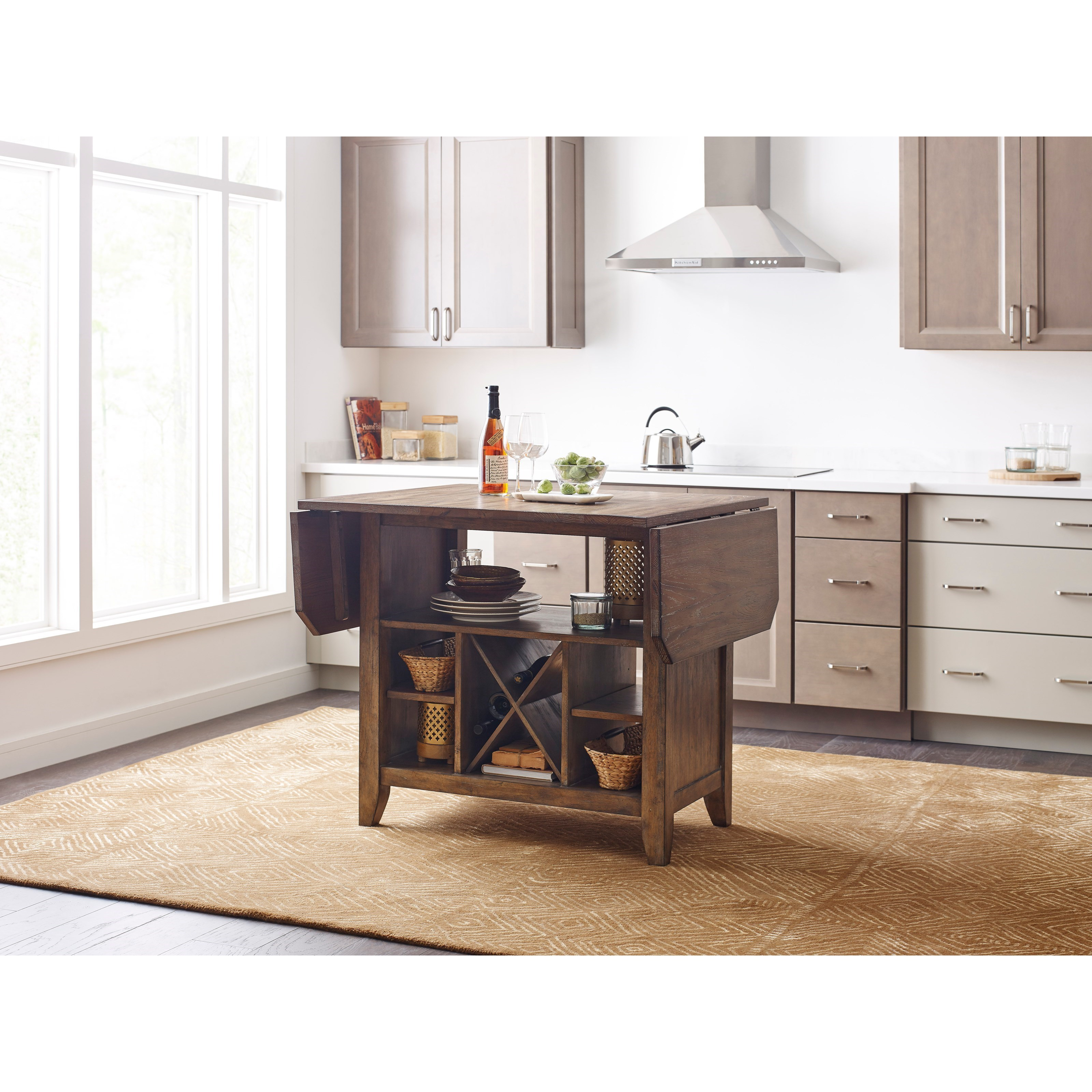 Kincaid Furniture The Nook 663 746p Solid Wood Kitchen