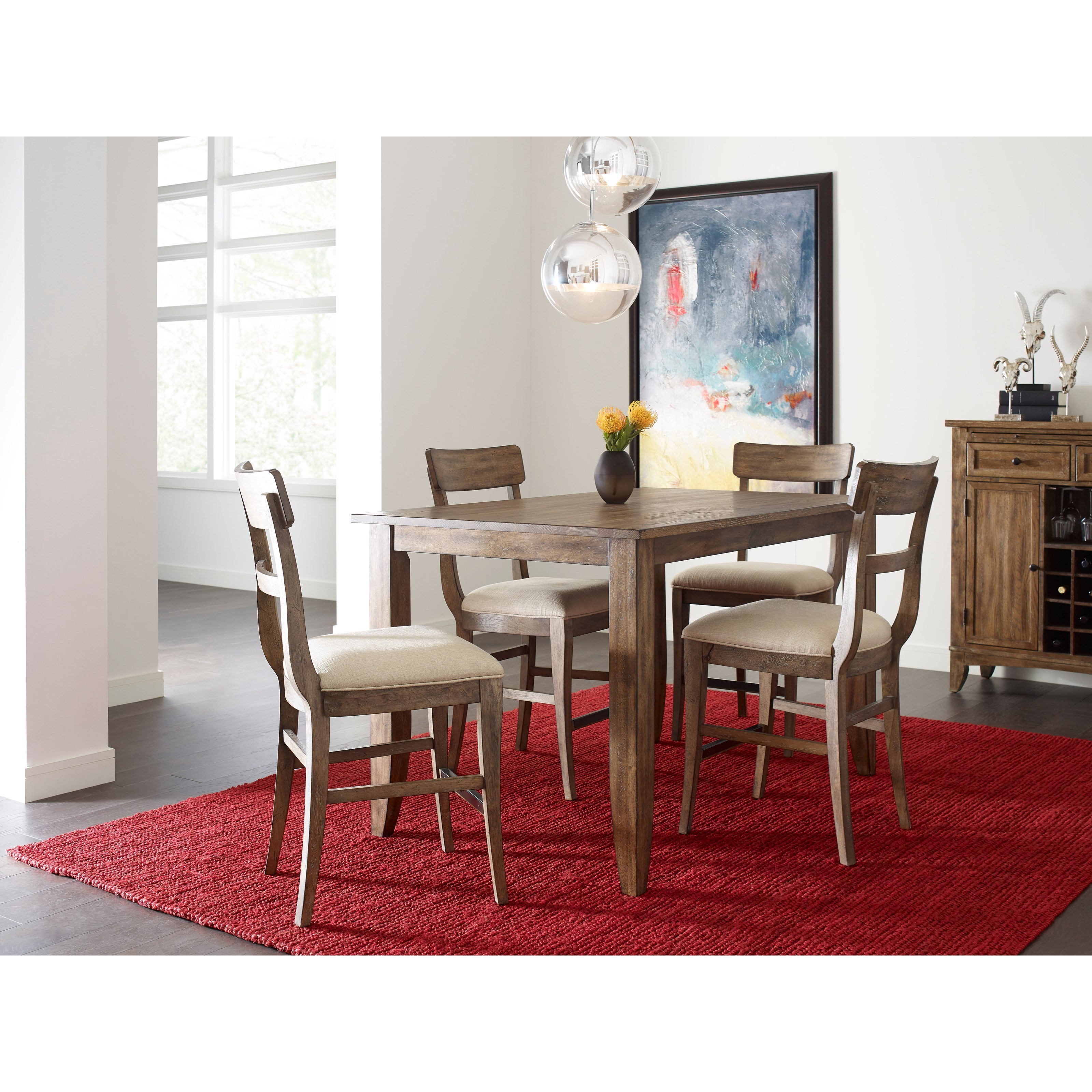 Counter Height Nook Table : Kincaid Furniture The Nook Solid Wood Rectangular Counter Height Table ...