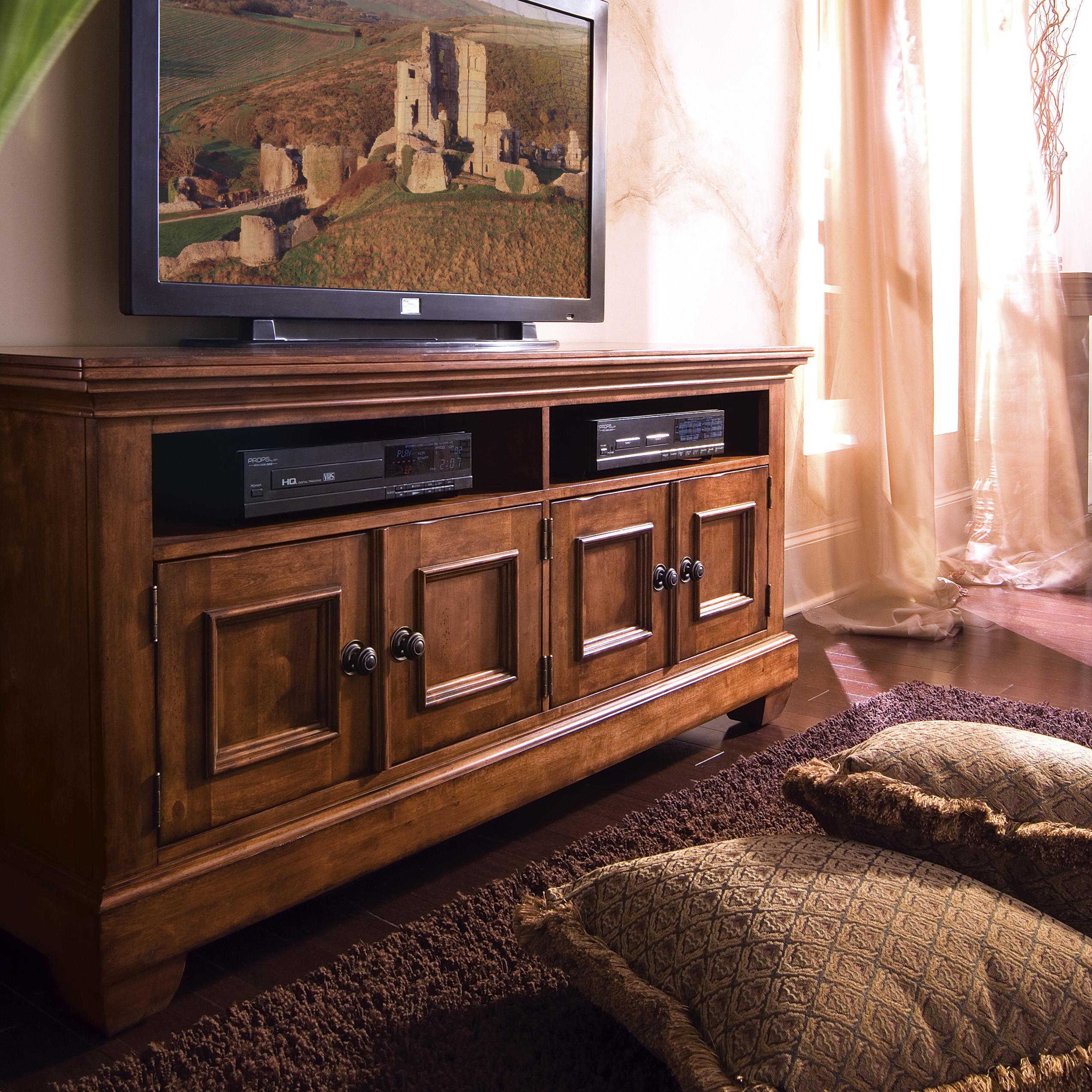 Kincaid furniture tuscano 65 entertainment console for Kincaid furniture