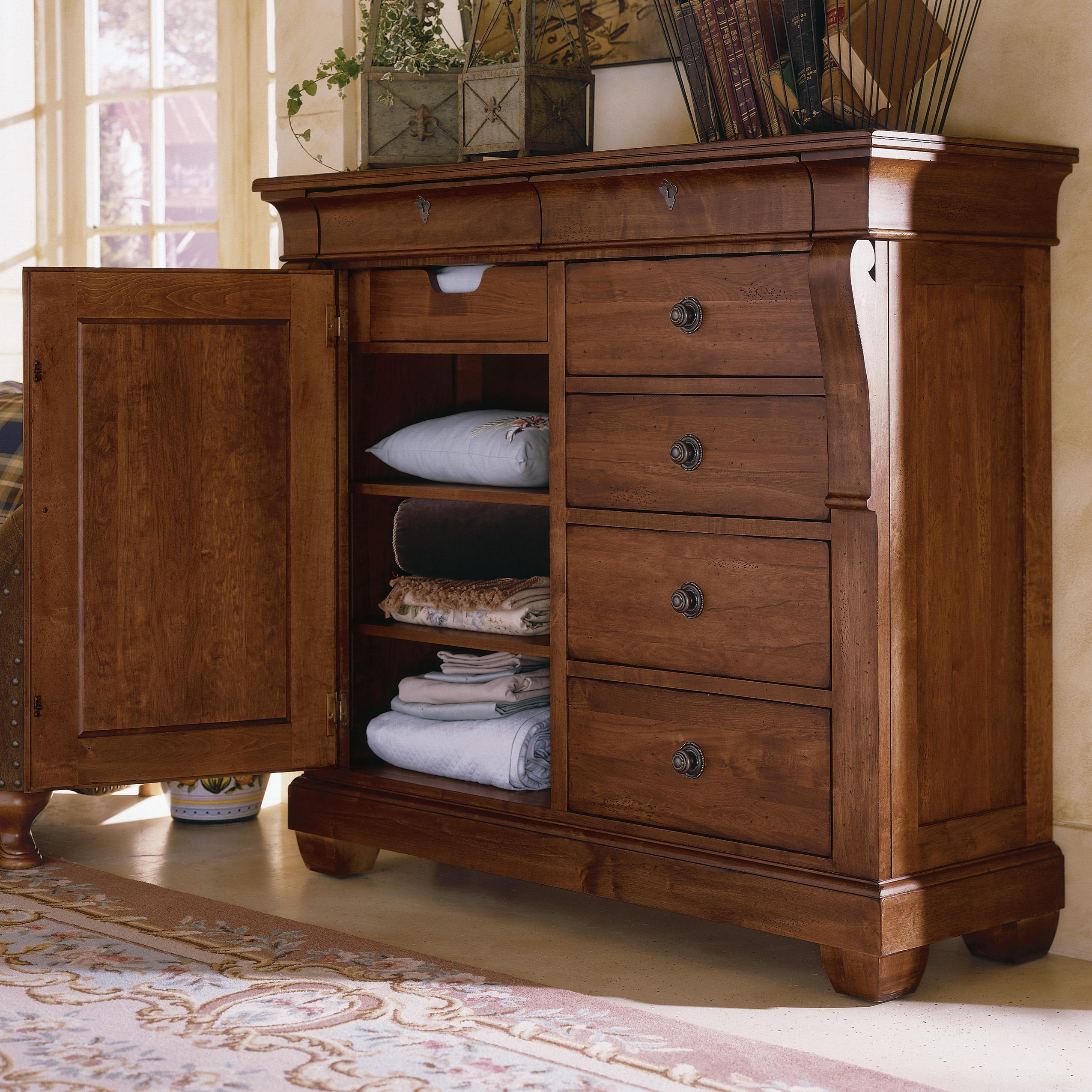 Kincaid Furniture Tuscano 96 162v 6 Drawer Door Chest Hudson 39 S Furniture Door Chests