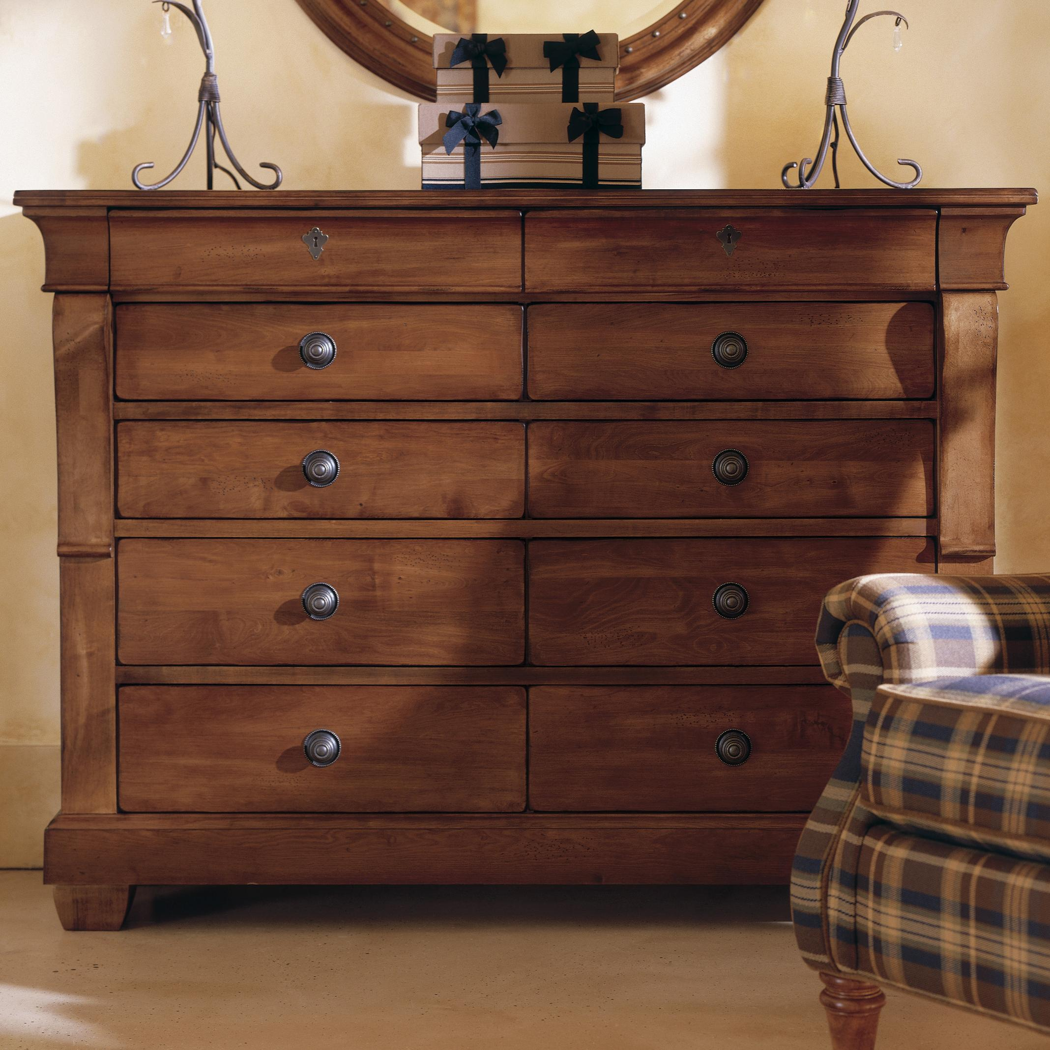Kincaid Furniture Tuscano Drawer Dresser Solid Wood Top Olinde 39 S Furniture Dressers