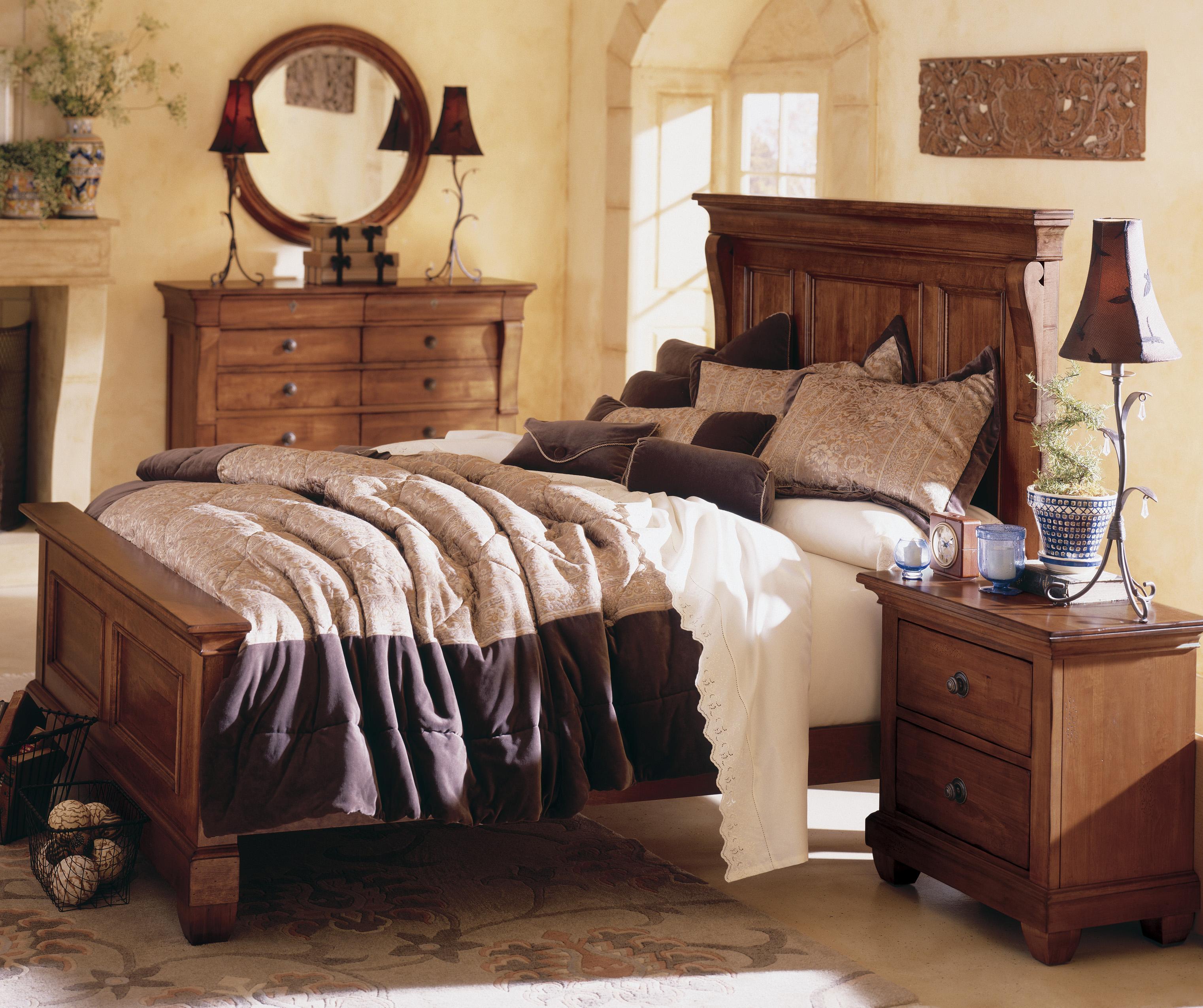 kincaid furniture tuscano drawer dresser solid wood top becker