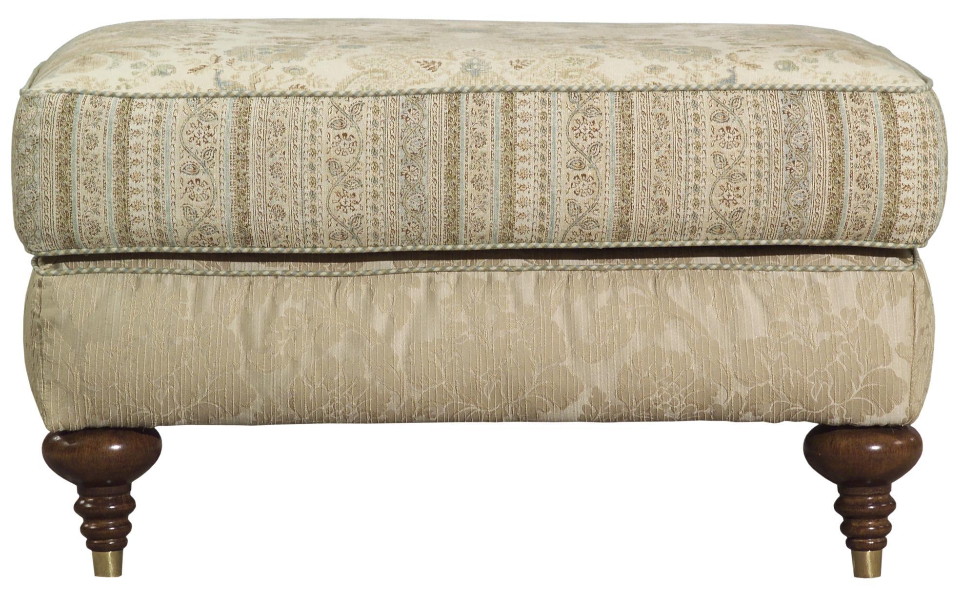 Kincaid Furniture Tuscany Rectangular Upholstered Ottoman