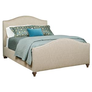 Kincaid Furniture Upholstered Beds Westchester King Bed With Nailhead Trim Belfort Furniture