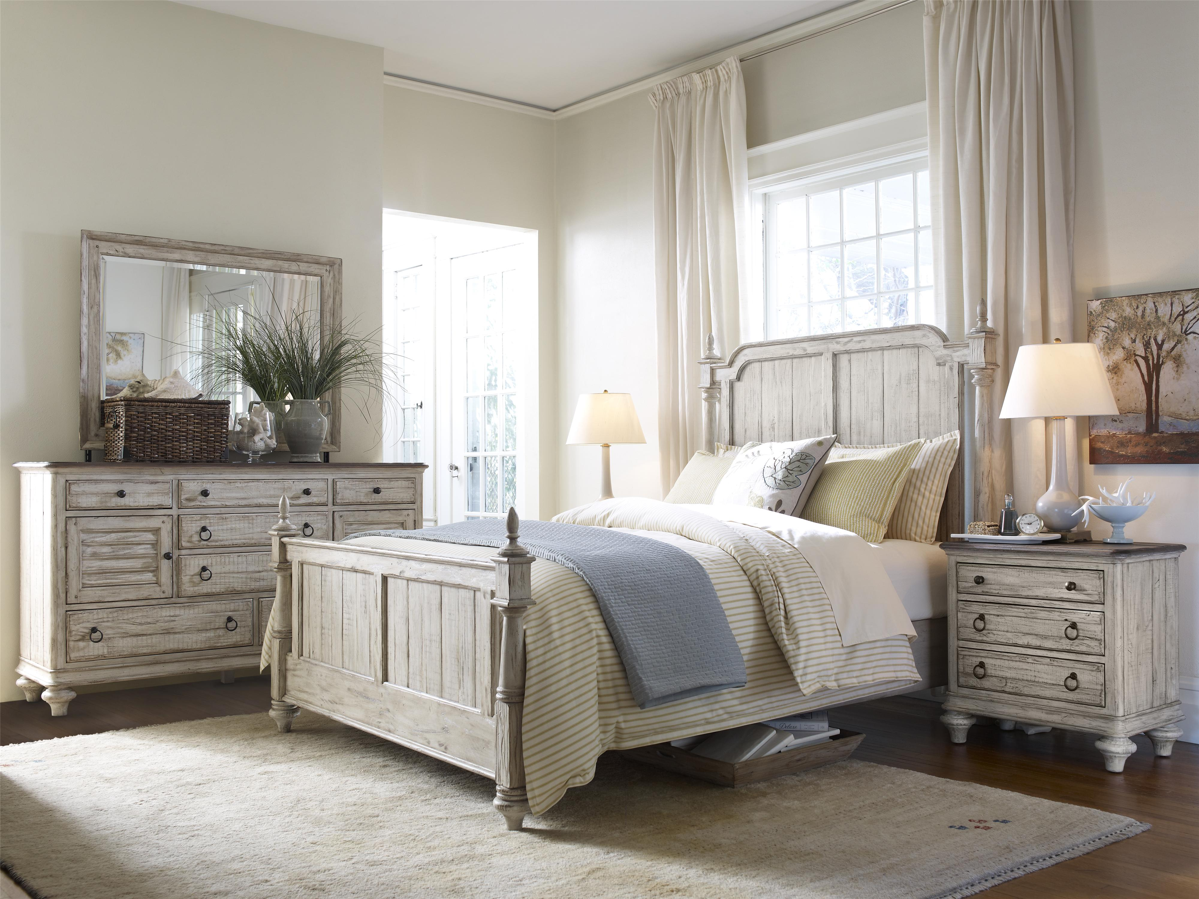 Kincaid Furniture Weatherford 75 141 Night Stand With 3 Drawers And Bun Feet Becker Furniture