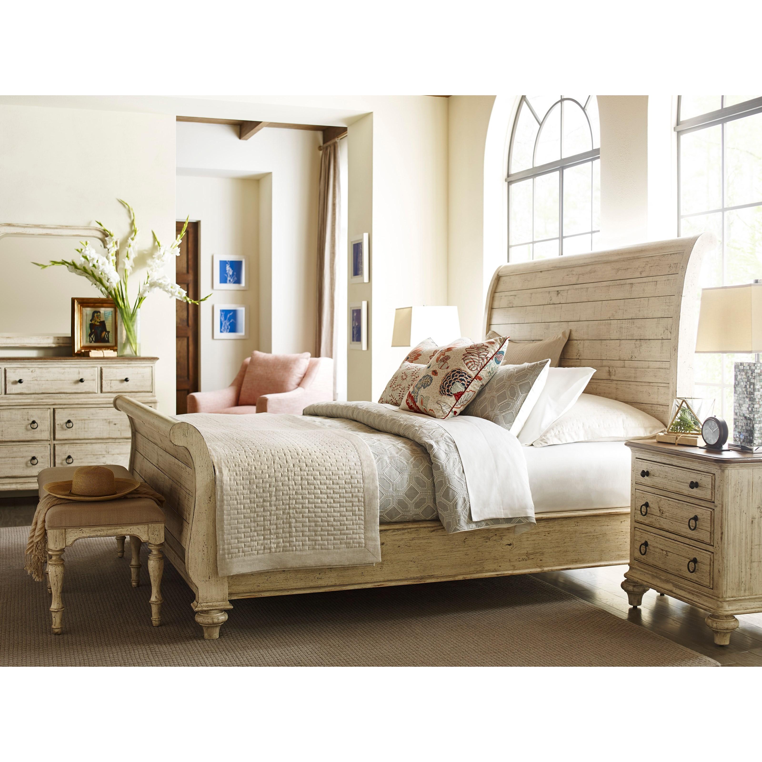 Kincaid Furniture Weatherford King Bedroom Group Hudson