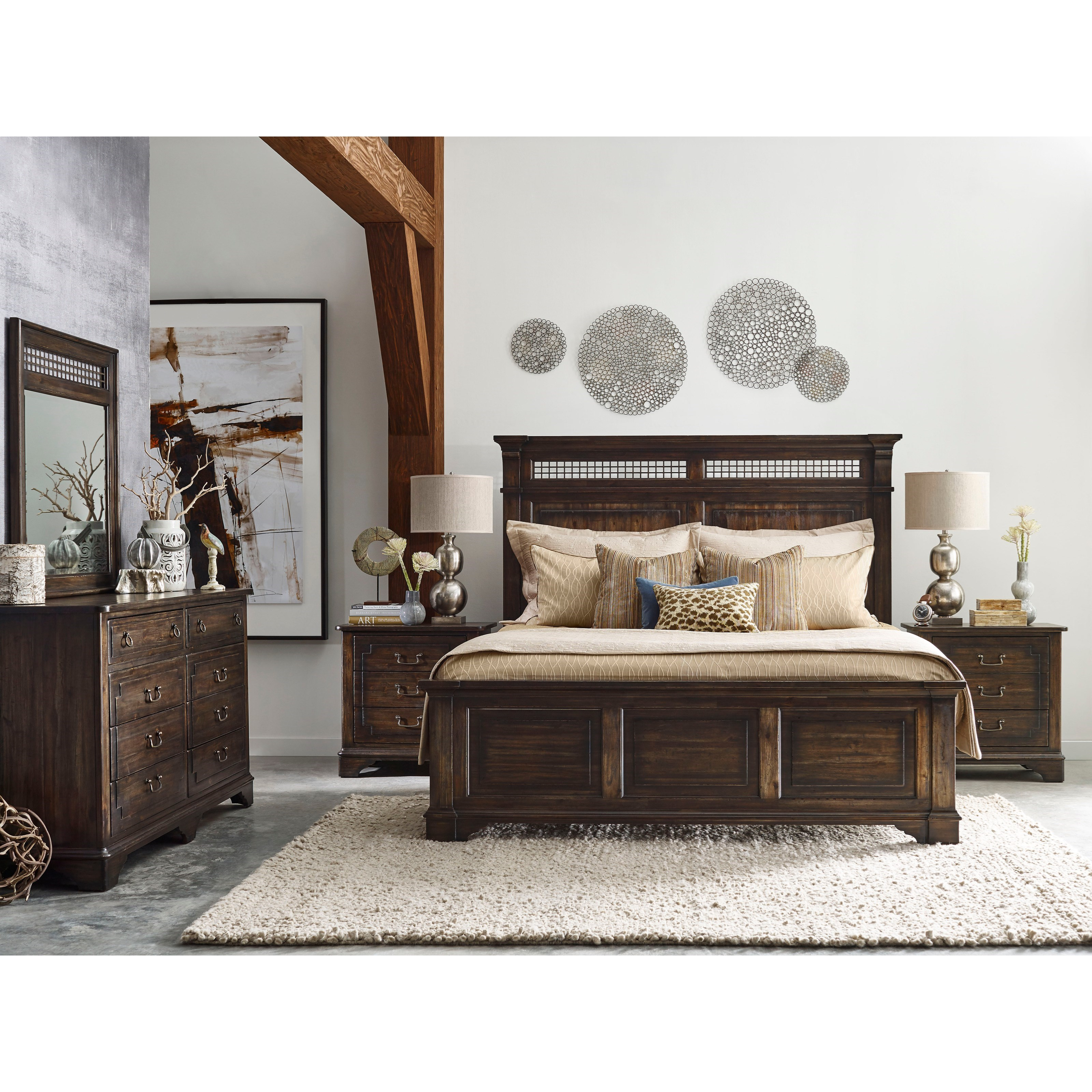 Kincaid Furniture Wildfire King Bedroom Group Johnny