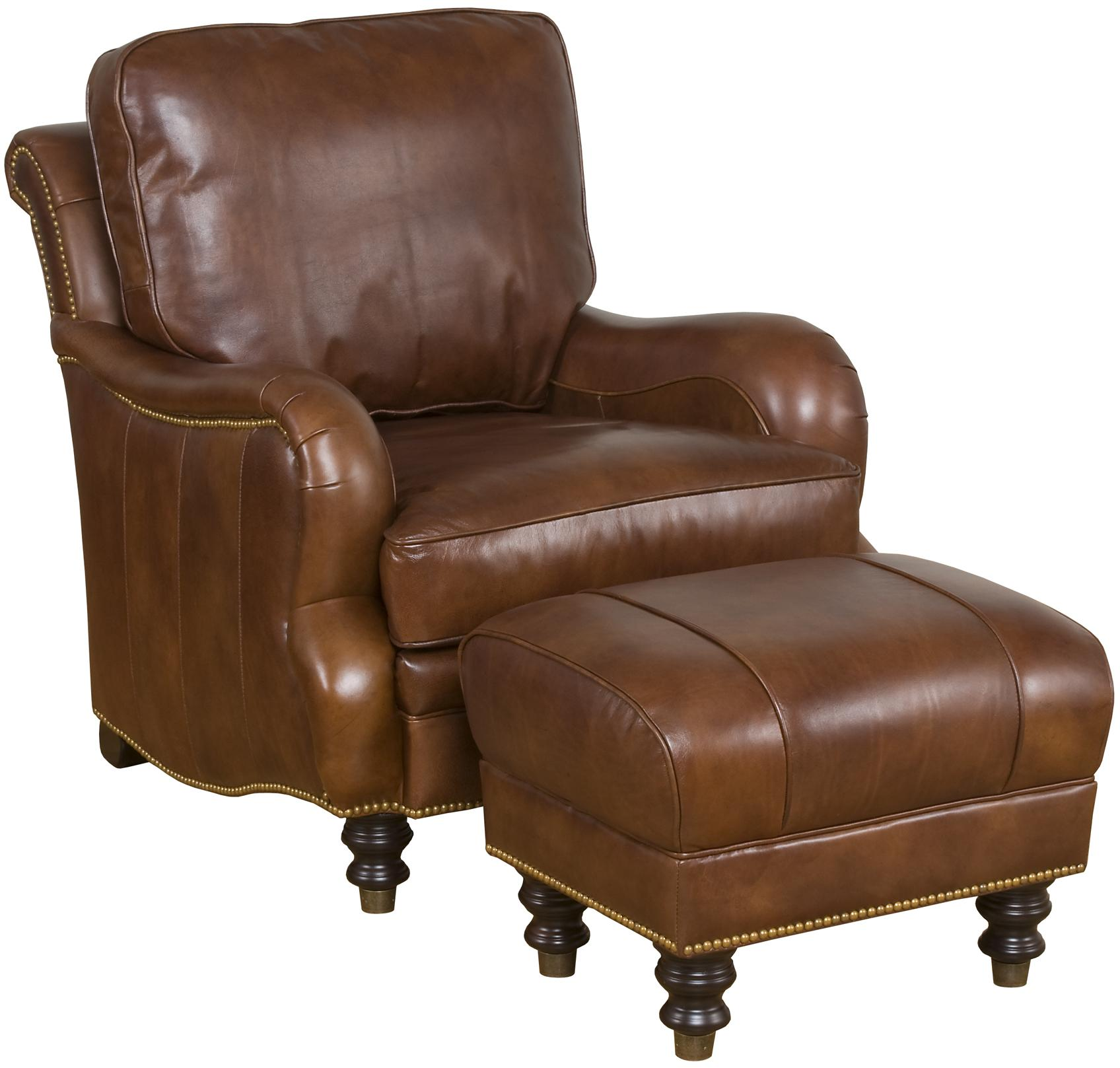 King Hickory Accent Chairs and Ottomans 5498D London