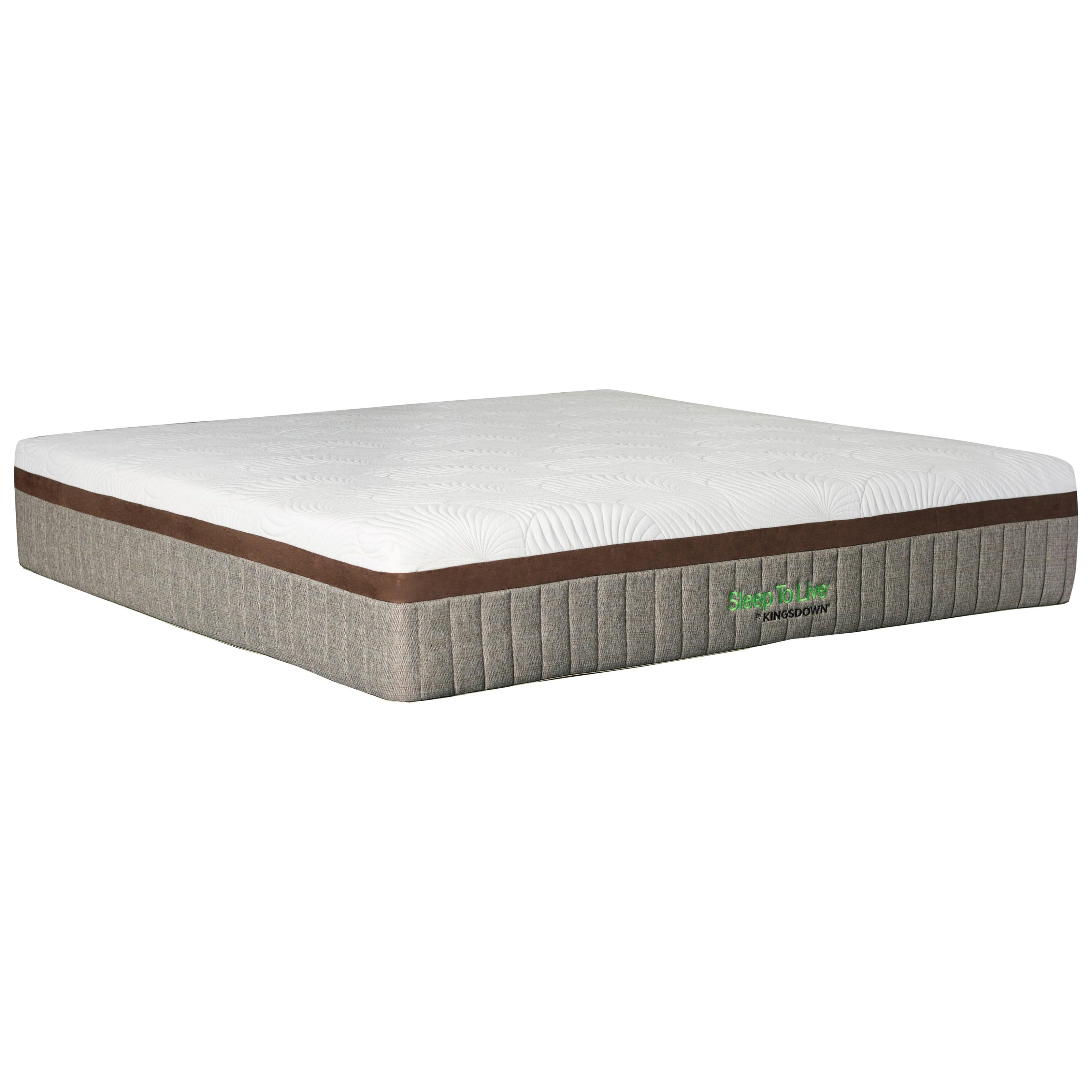 kingsdown 700 series 5819 red red5819 q 1512lpplus q queen 15 extra firm memory foam mattress. Black Bedroom Furniture Sets. Home Design Ideas