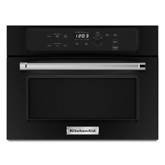 Kitchenaid 24 built in microwave oven with 1000 watt for Built in microwave oven 24 inch