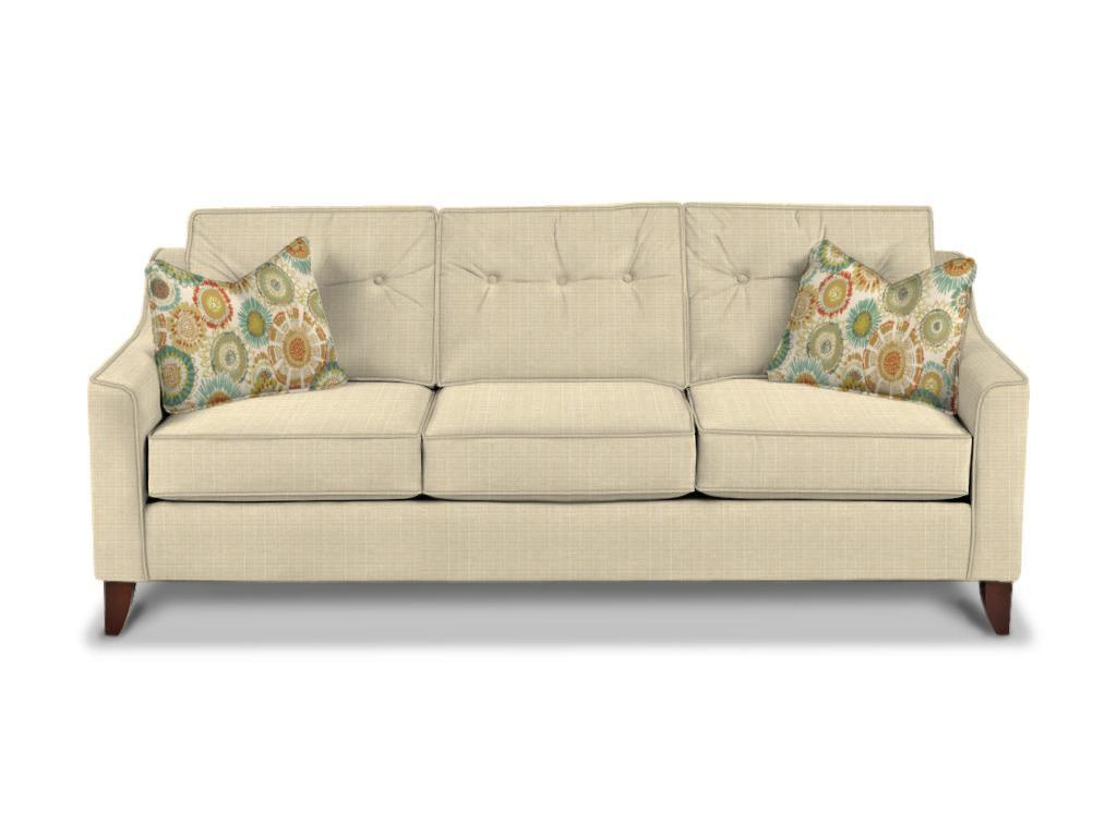 Klaussner sofa klaussner declan traditional sofa with for Klaussner sofa