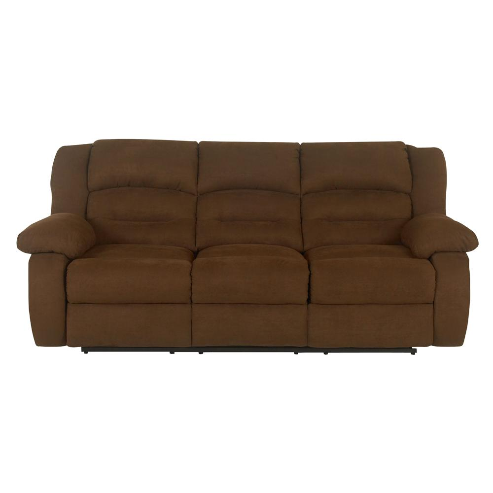 Klaussner austin 33503 rs casual reclining sofa dunk for Casual couch
