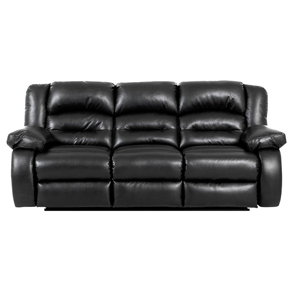 Klaussner austin casual reclining sofa olinde 39 s for Casual couch