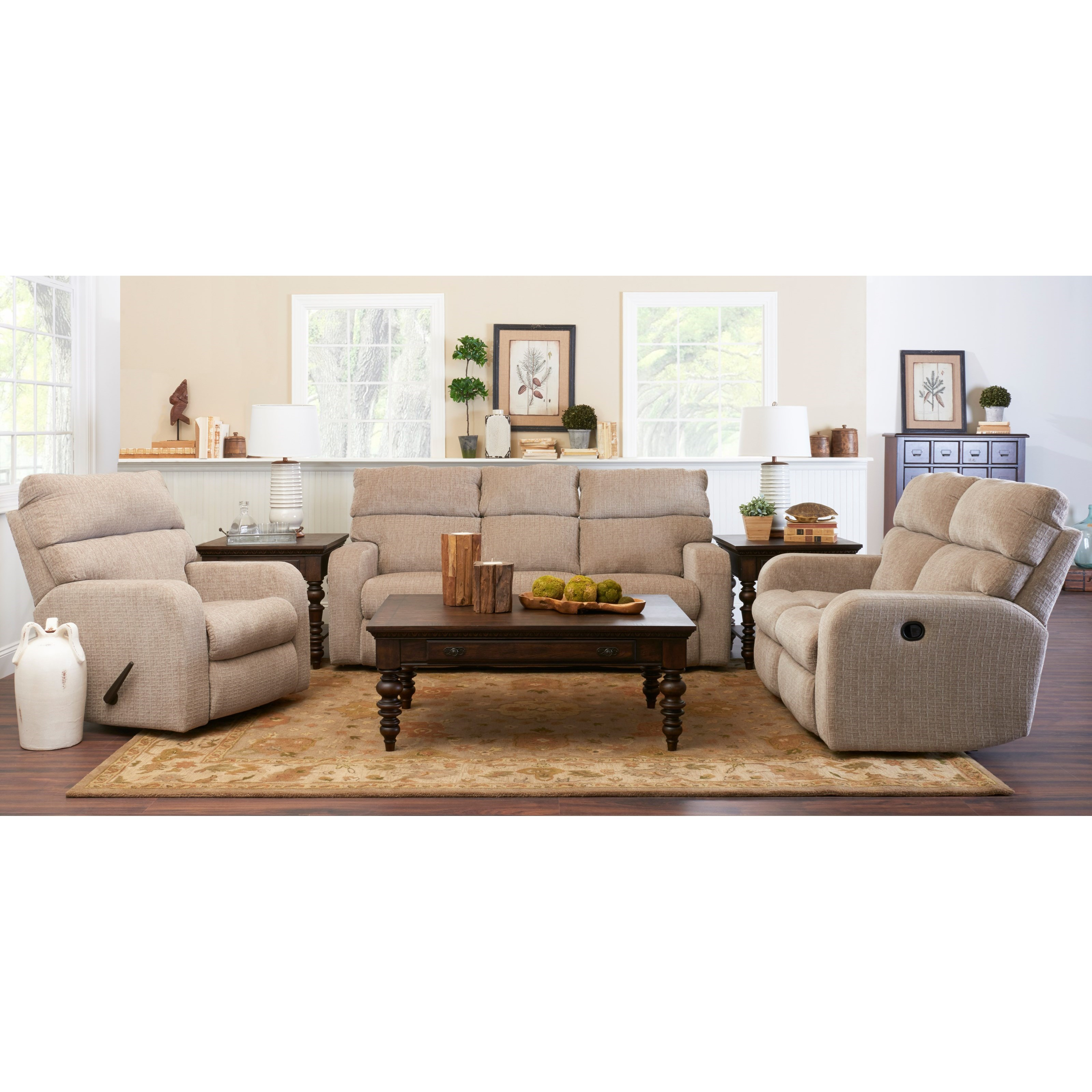 Bradford Dining Room Furniture Collection Klaussner Bradford 40203h Rrc Casual Reclining Rocking