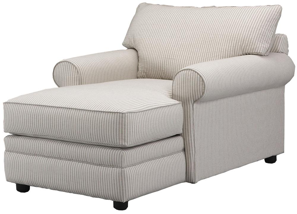 Elliston place comfy casual chaise lounge morris home for Chaise 2 places