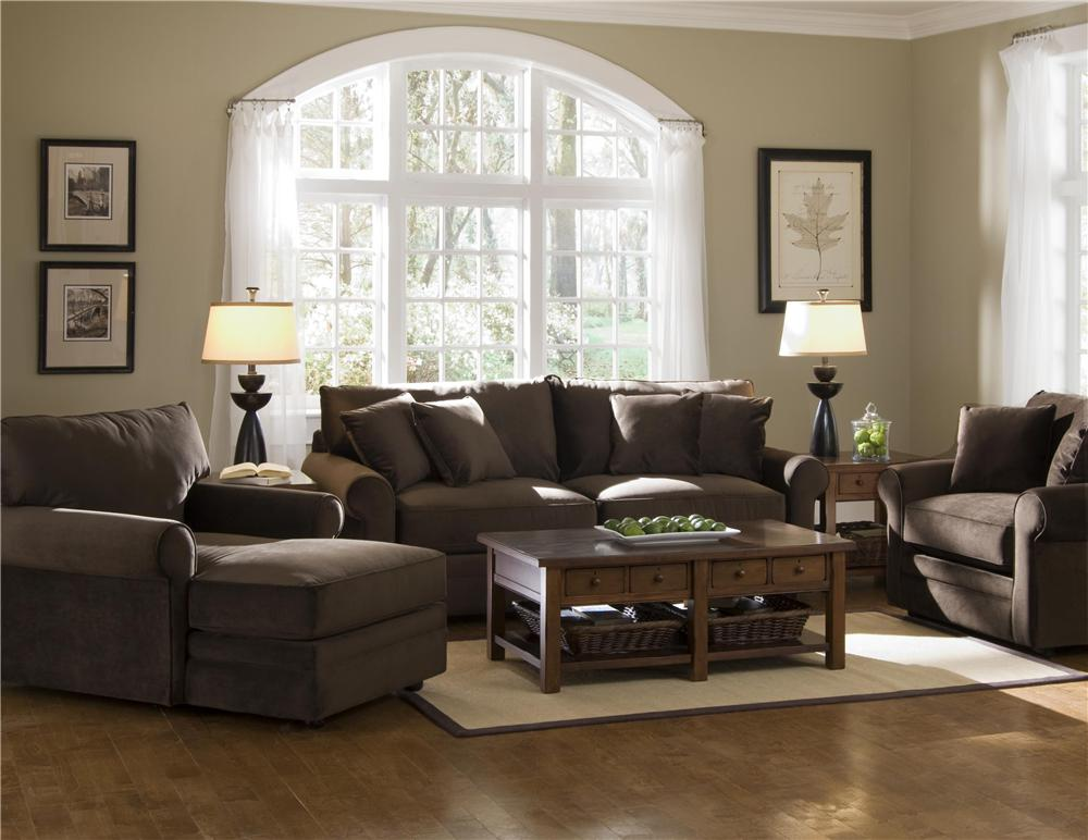 Elliston place comfy casual chaise lounge morris home for Chaise 3 places