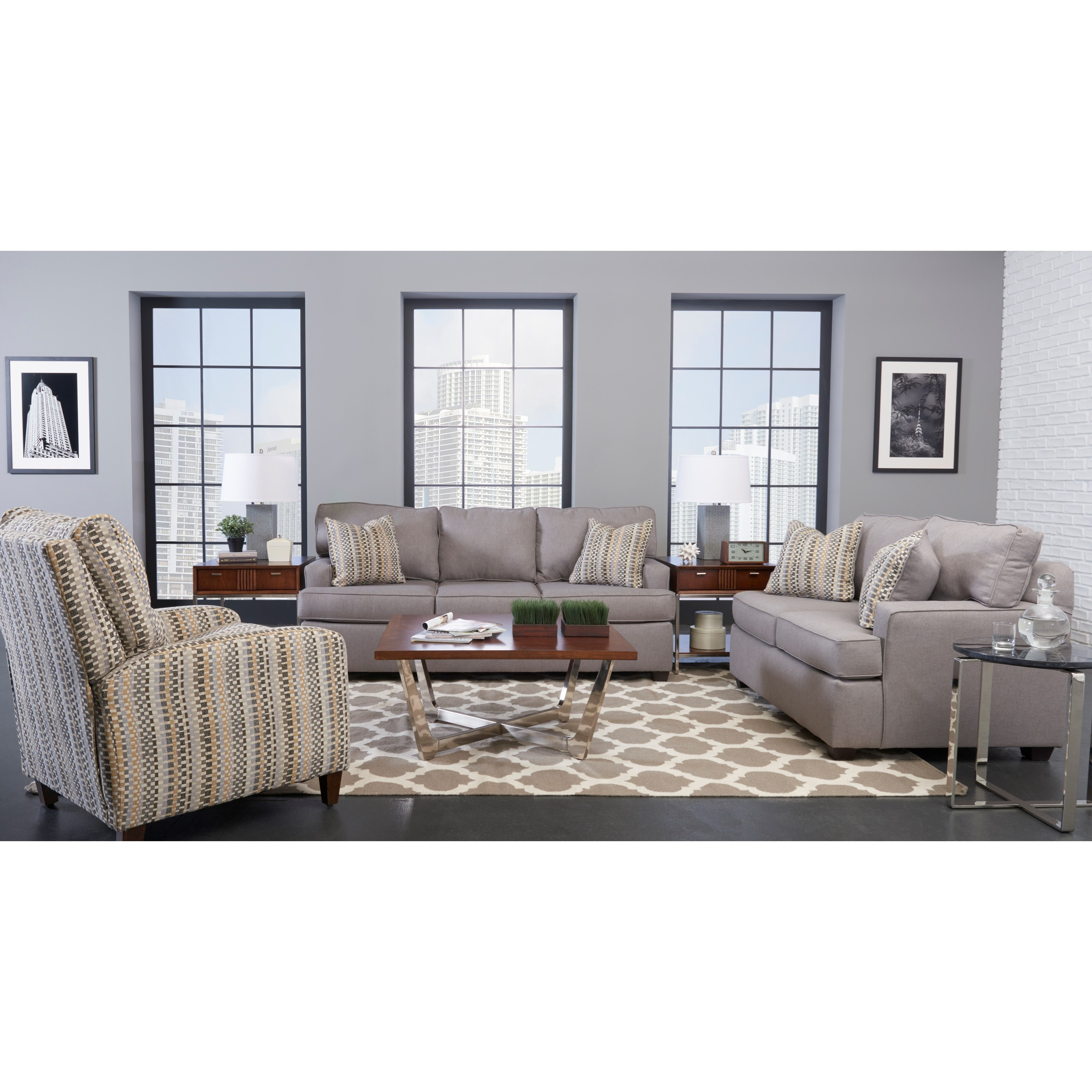 Klaussner cruze living room group wayside furniture for Living room furniture groups