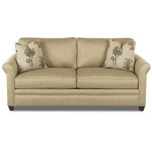 Klaussner Dopler Queen Sleeper Sofa with Inner Spring